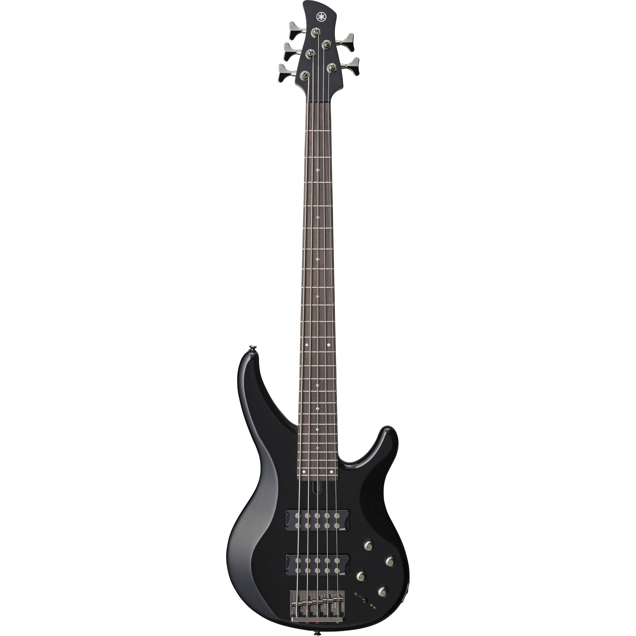 yamaha trbx305 5 string electric bass black trbx305 bl b h