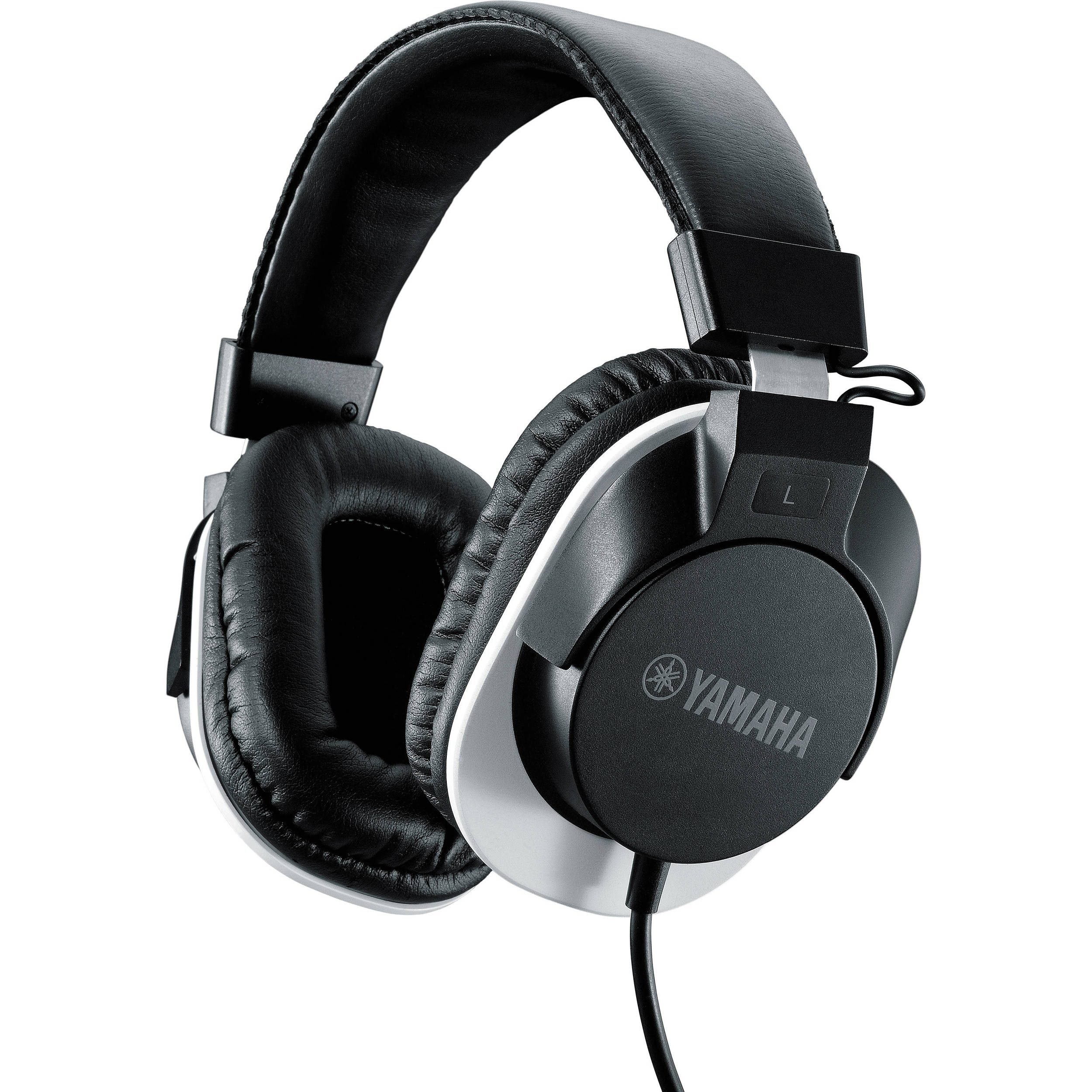 yamaha hph mt120 studio monitor headphones black hph mt120bl