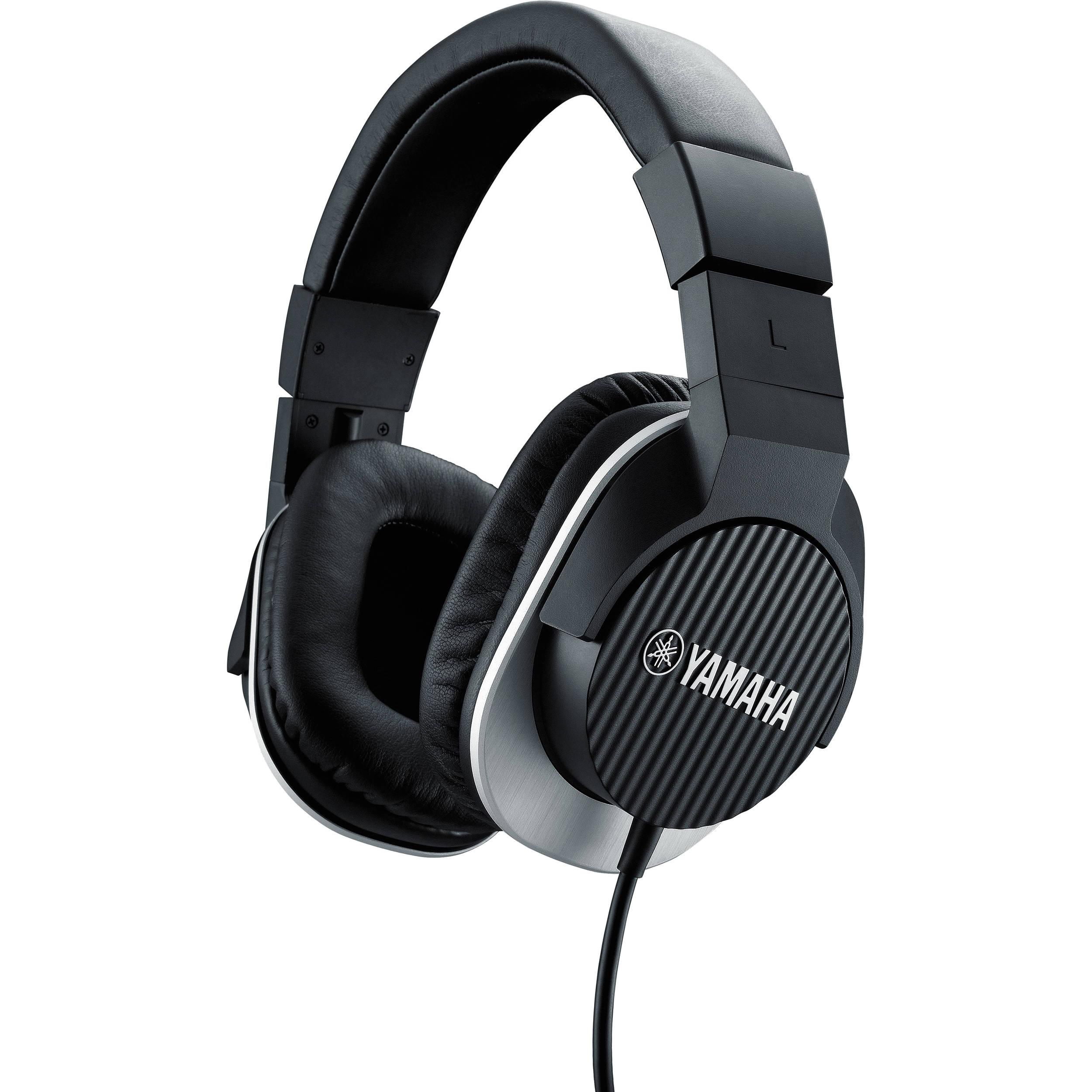 yamaha hph mt220 studio monitor headphones black hph mt220bl. Black Bedroom Furniture Sets. Home Design Ideas