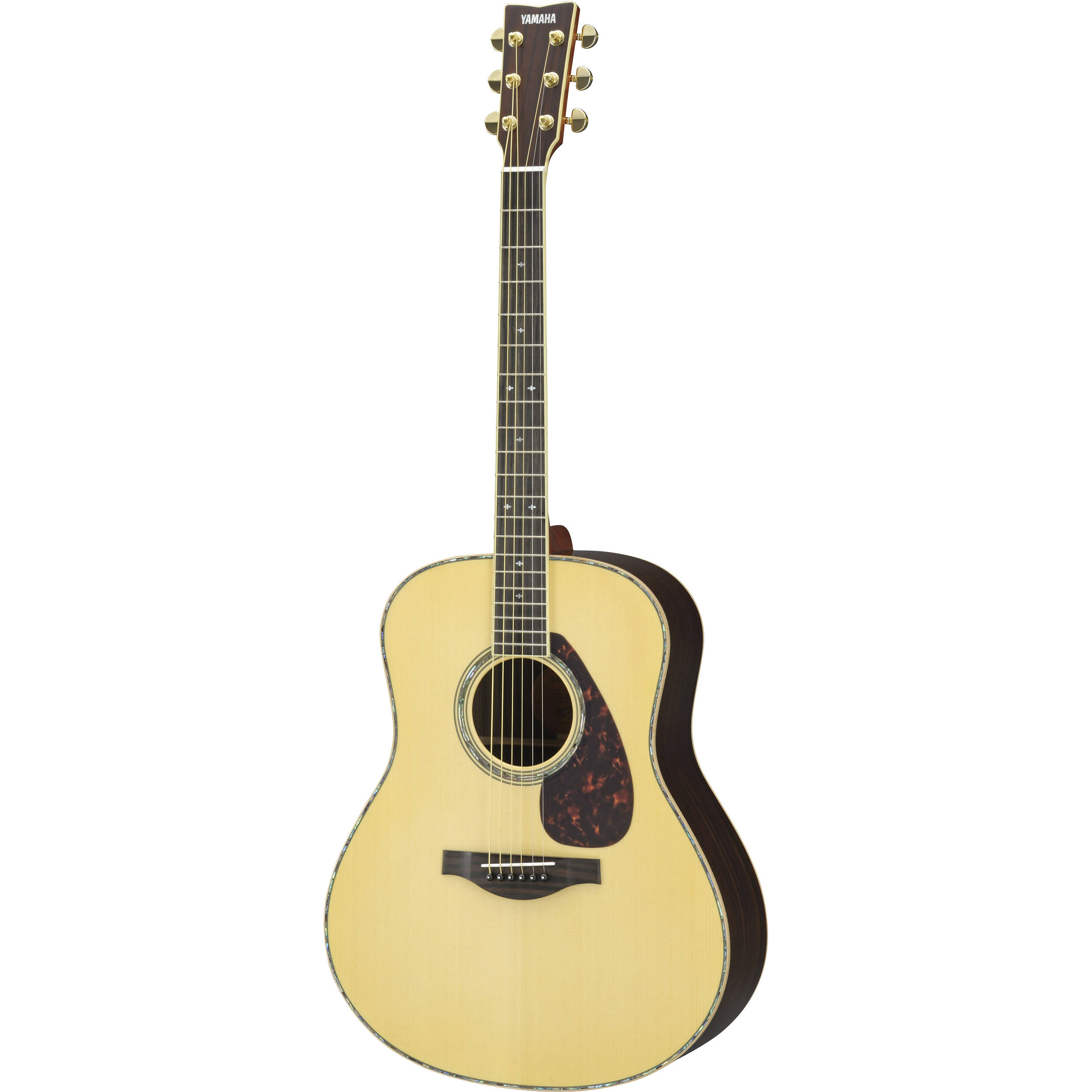 yamaha ll16 are acoustic electric guitar natural ll16rdhc b h. Black Bedroom Furniture Sets. Home Design Ideas