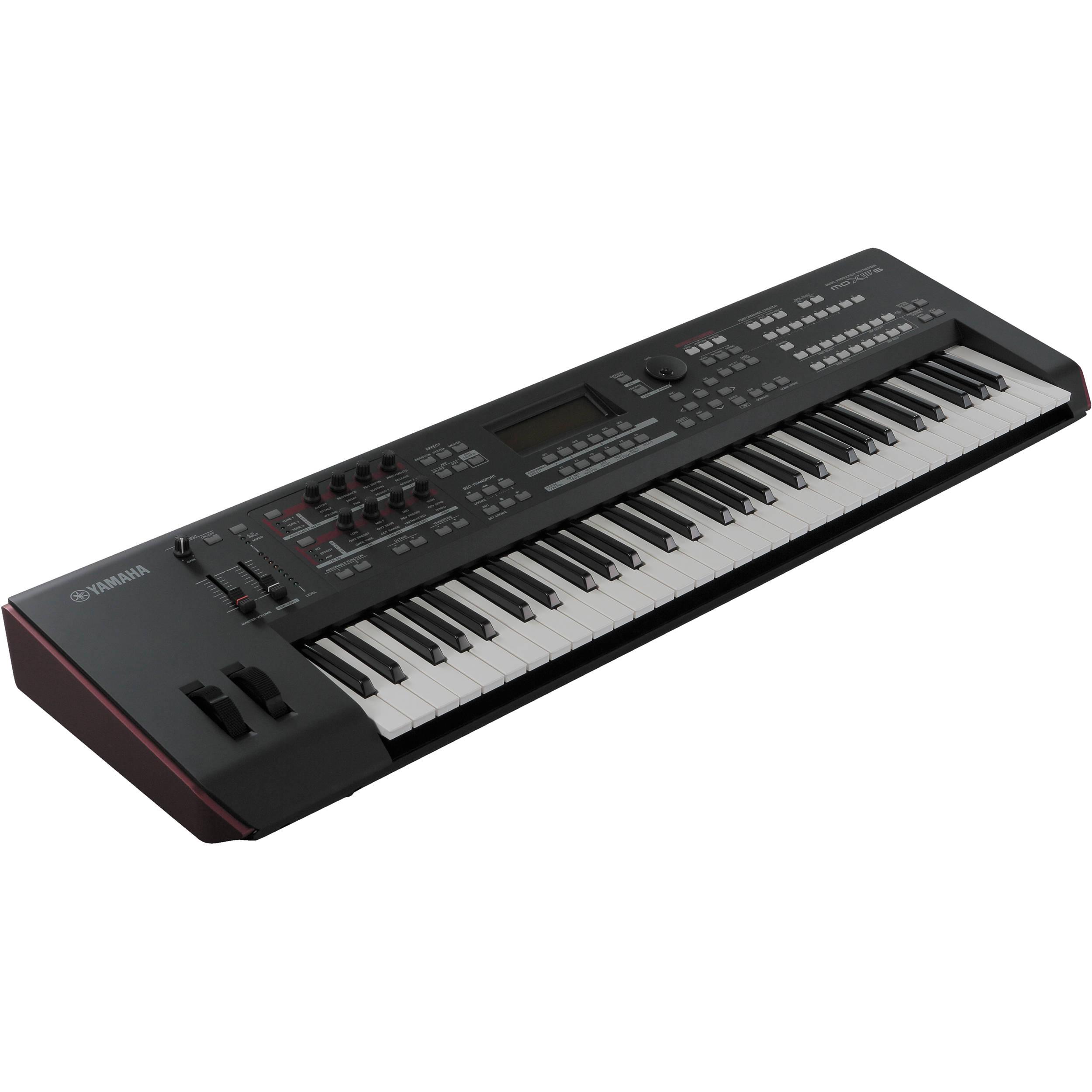 yamaha moxf6 keyboard workstation moxf6 b h photo video. Black Bedroom Furniture Sets. Home Design Ideas