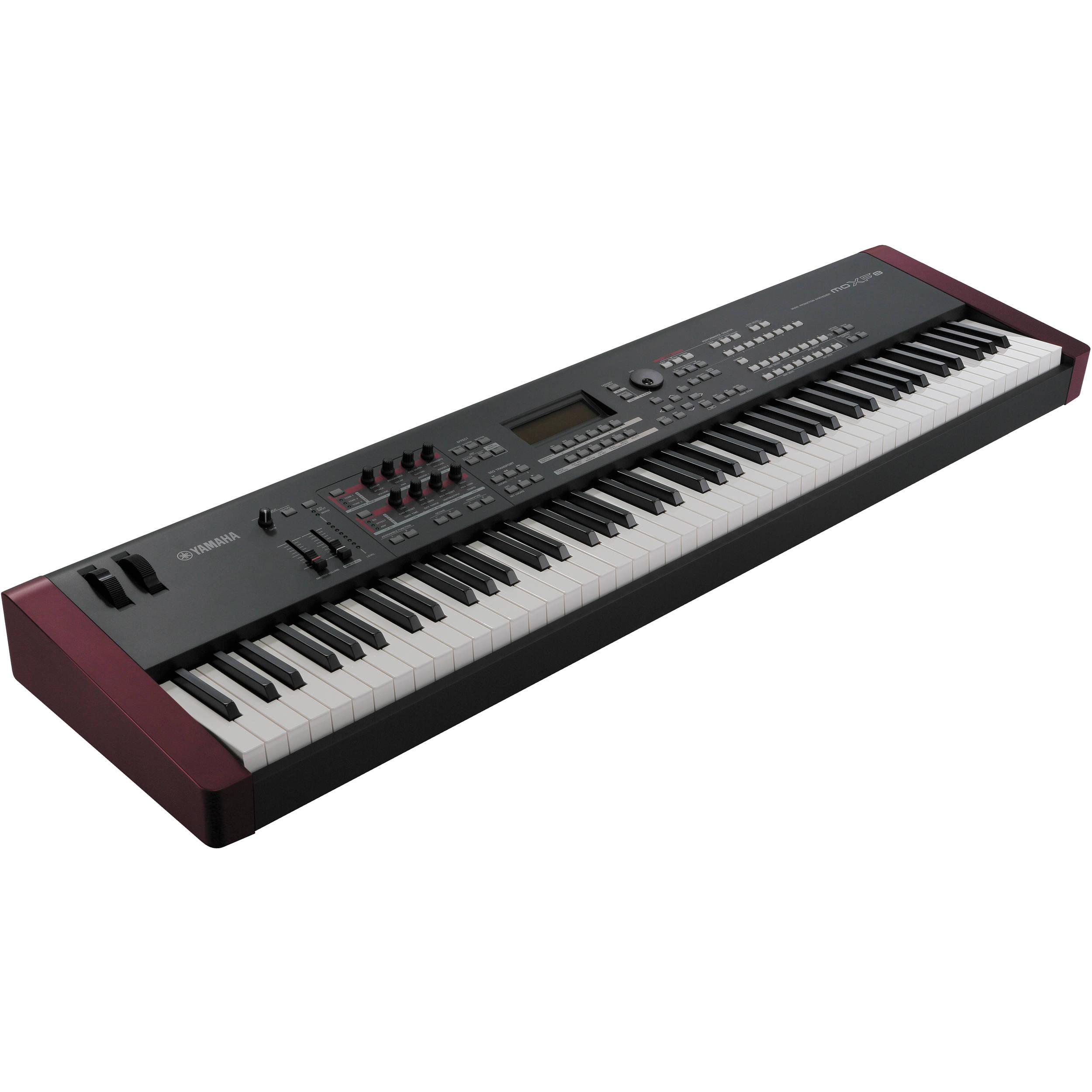 yamaha moxf8 keyboard workstation moxf8 b h photo video. Black Bedroom Furniture Sets. Home Design Ideas