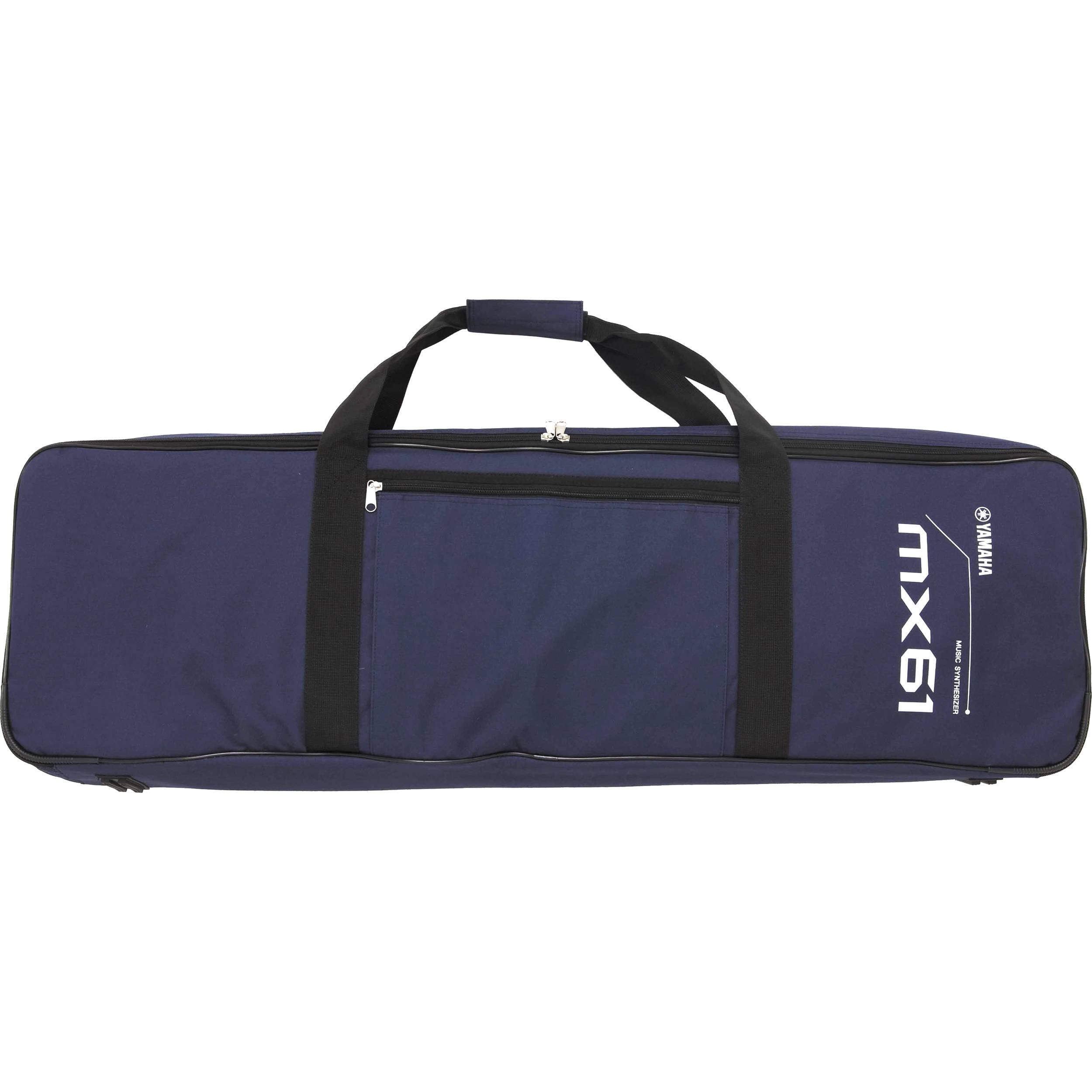 Yamaha mx61 bag for mx61 music synthesizer blue mx61 bag for Yamaha mx61 specs