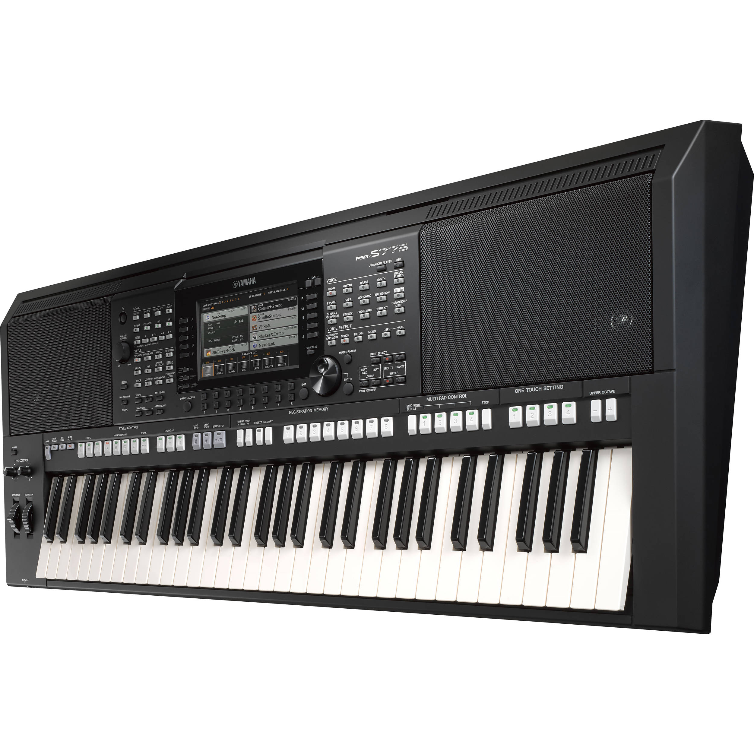 Yamaha Keyboard Demo Songs