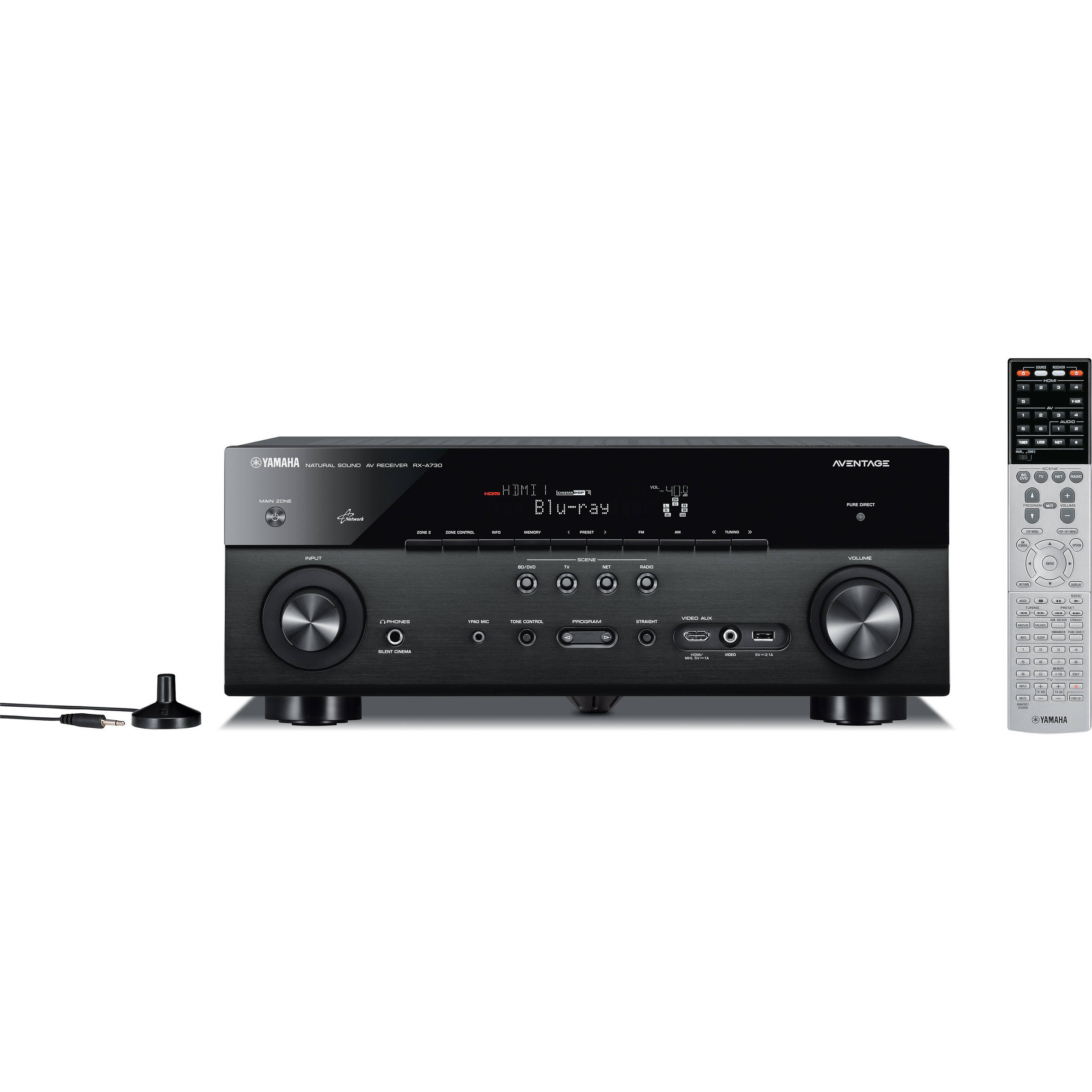 yamaha aventage rx a730 7 2 channel network av receiver