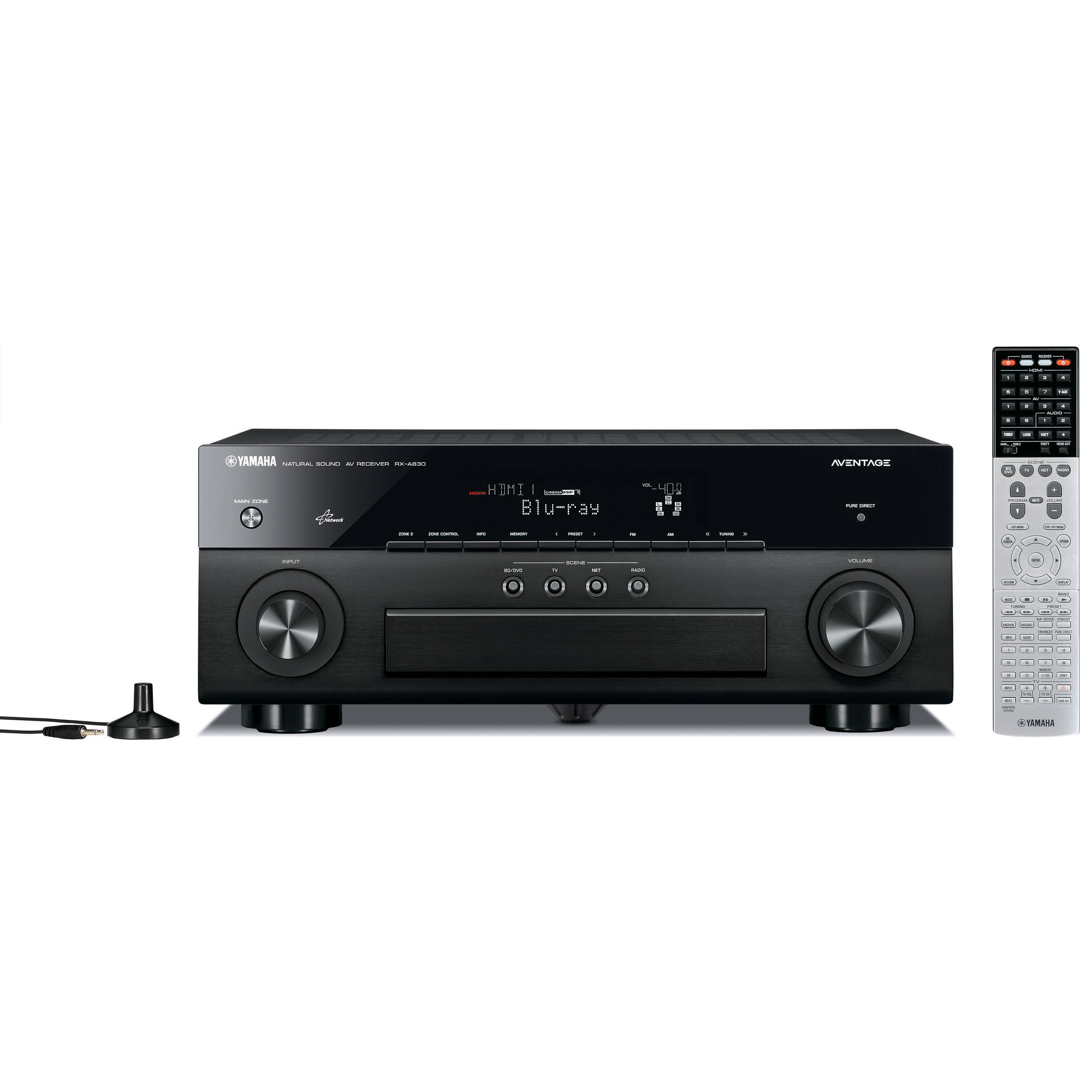 yamaha aventage rx a830 7 2 channel network av receiver