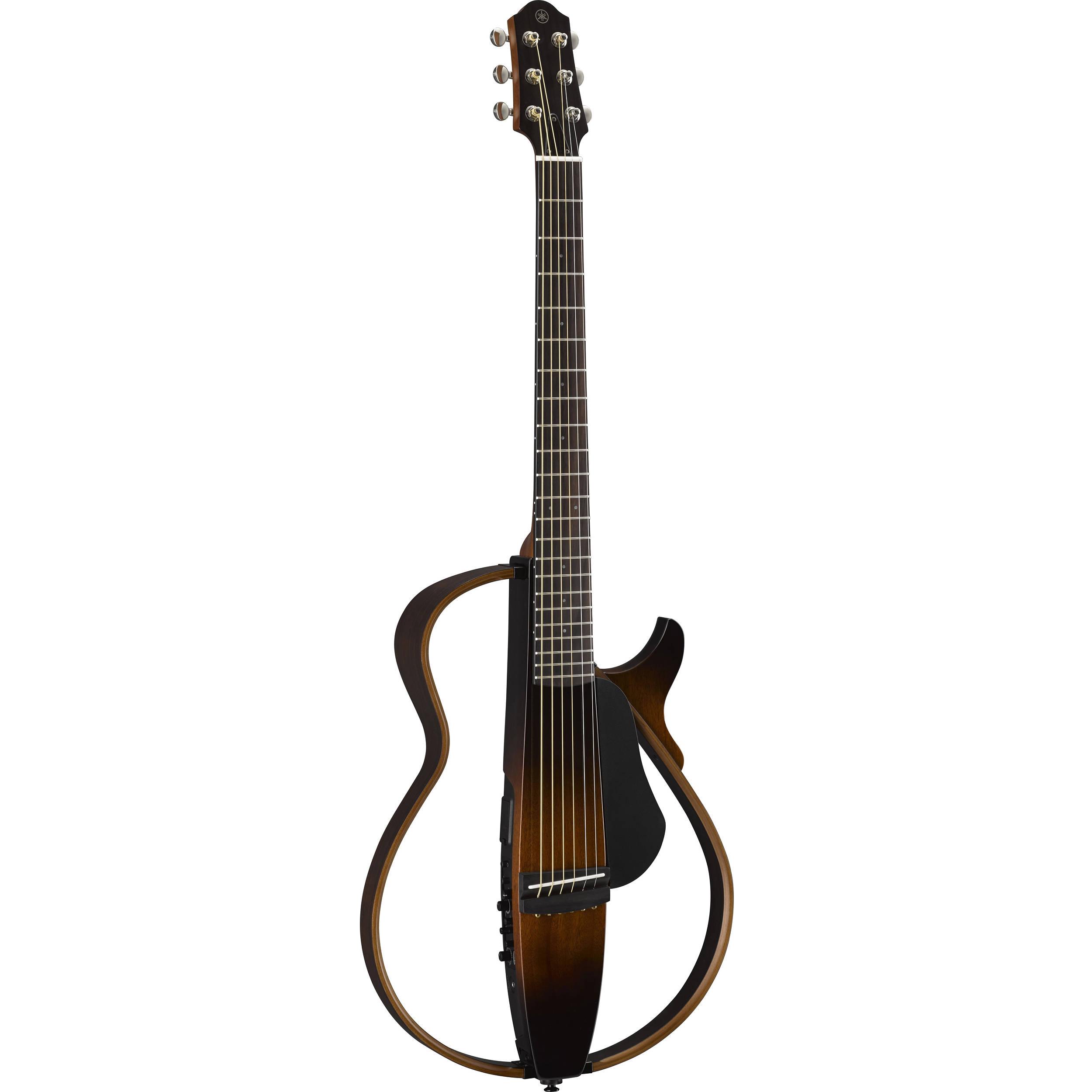 Yamaha slg200s steel string silent guitar slg200s tbs b h for Yamaha slg200s steel string silent guitar