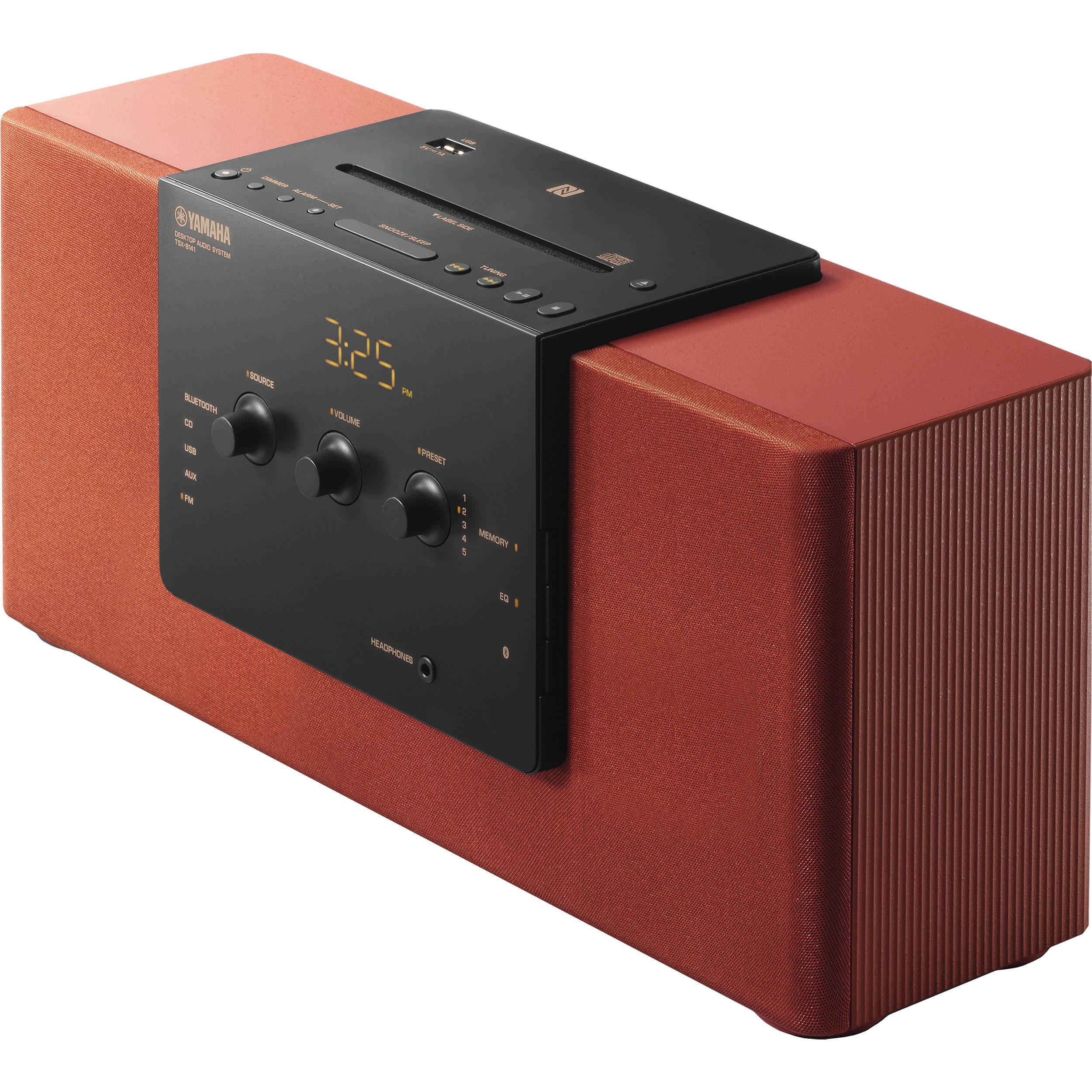 yamaha tsx b141 desktop audio system brick tsx b141br b h. Black Bedroom Furniture Sets. Home Design Ideas