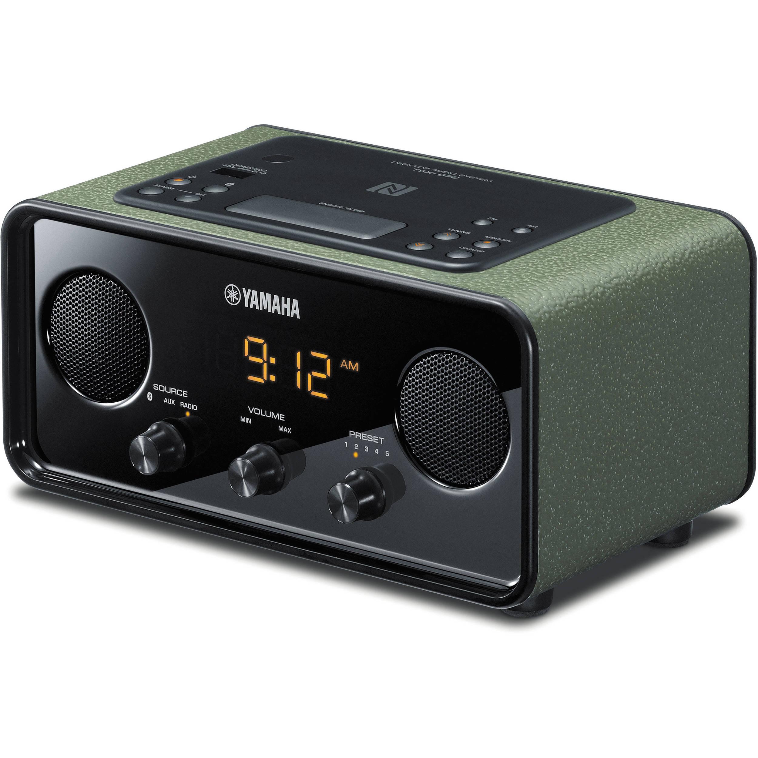 Yamaha tsx b72 desktop audio system dark green tsx for Yamaha warranty registration