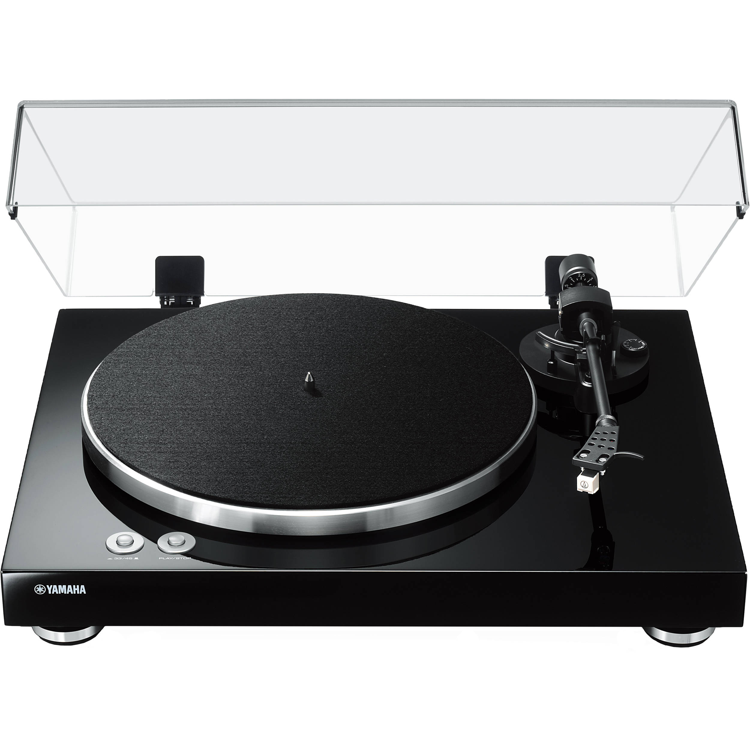 Gentil Yamaha TT S303 Stereo Turntable (Piano Black)