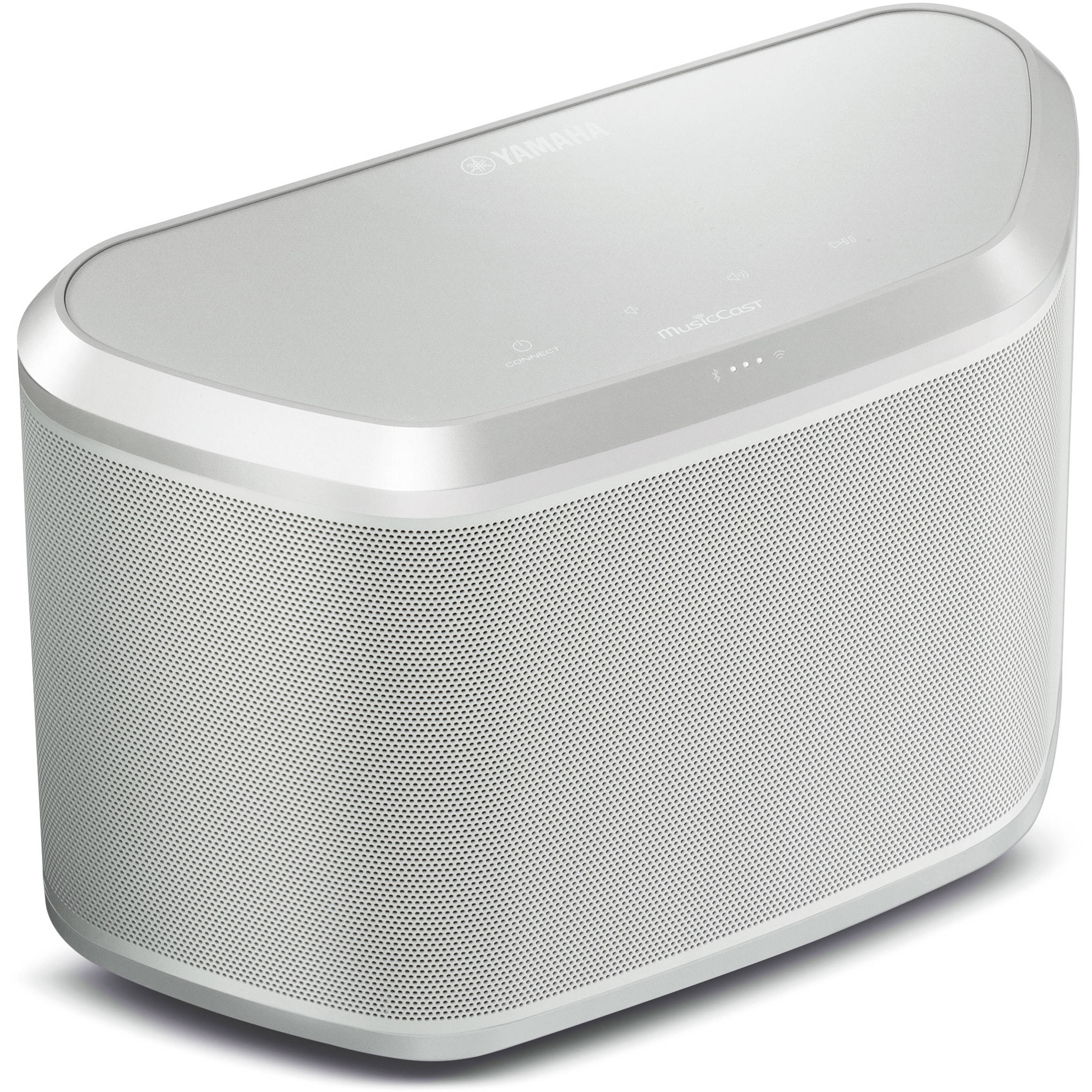 yamaha wx 030 musiccast wireless speaker white silver wx