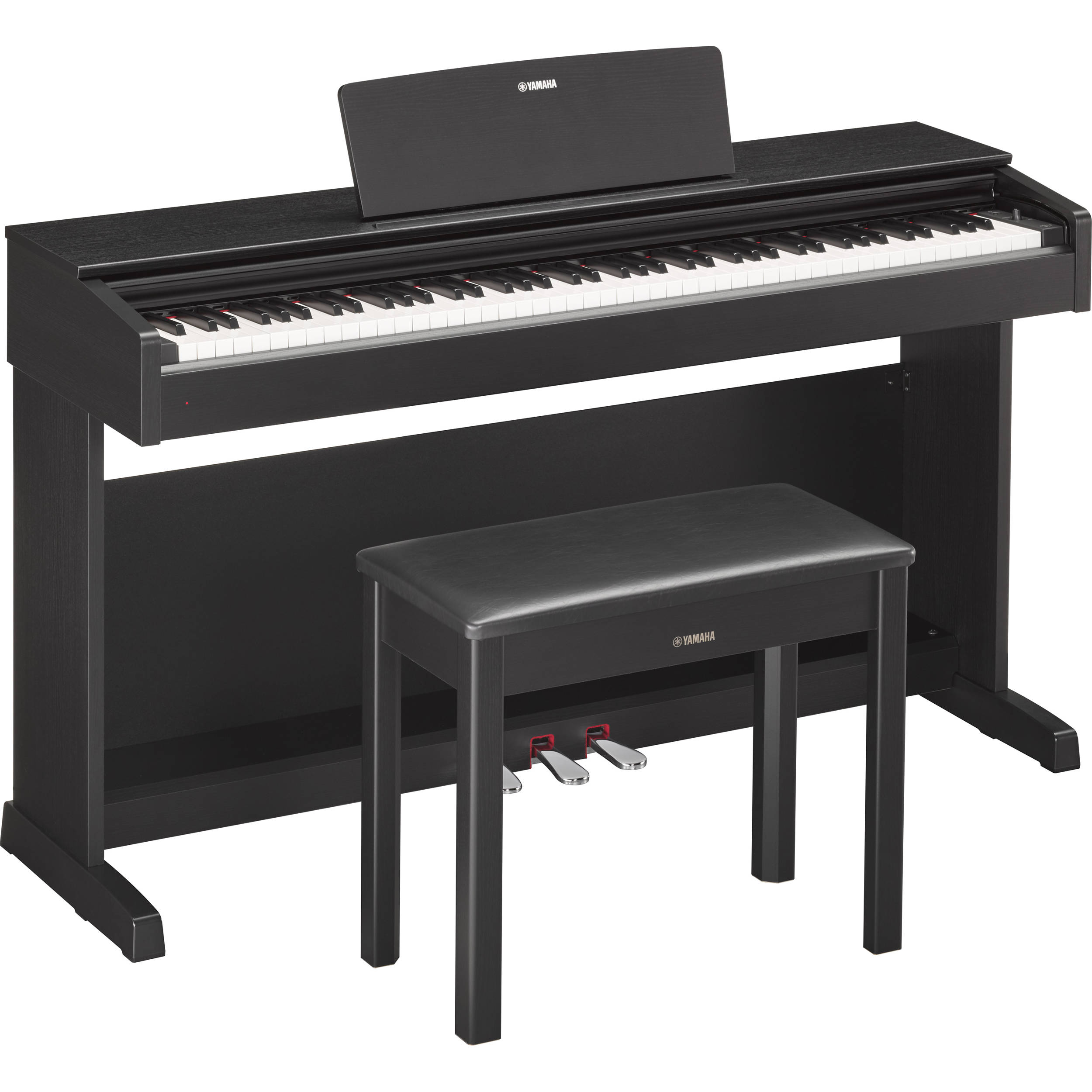 yamaha arius ydp 143b digital piano with bench ydp143b b h. Black Bedroom Furniture Sets. Home Design Ideas