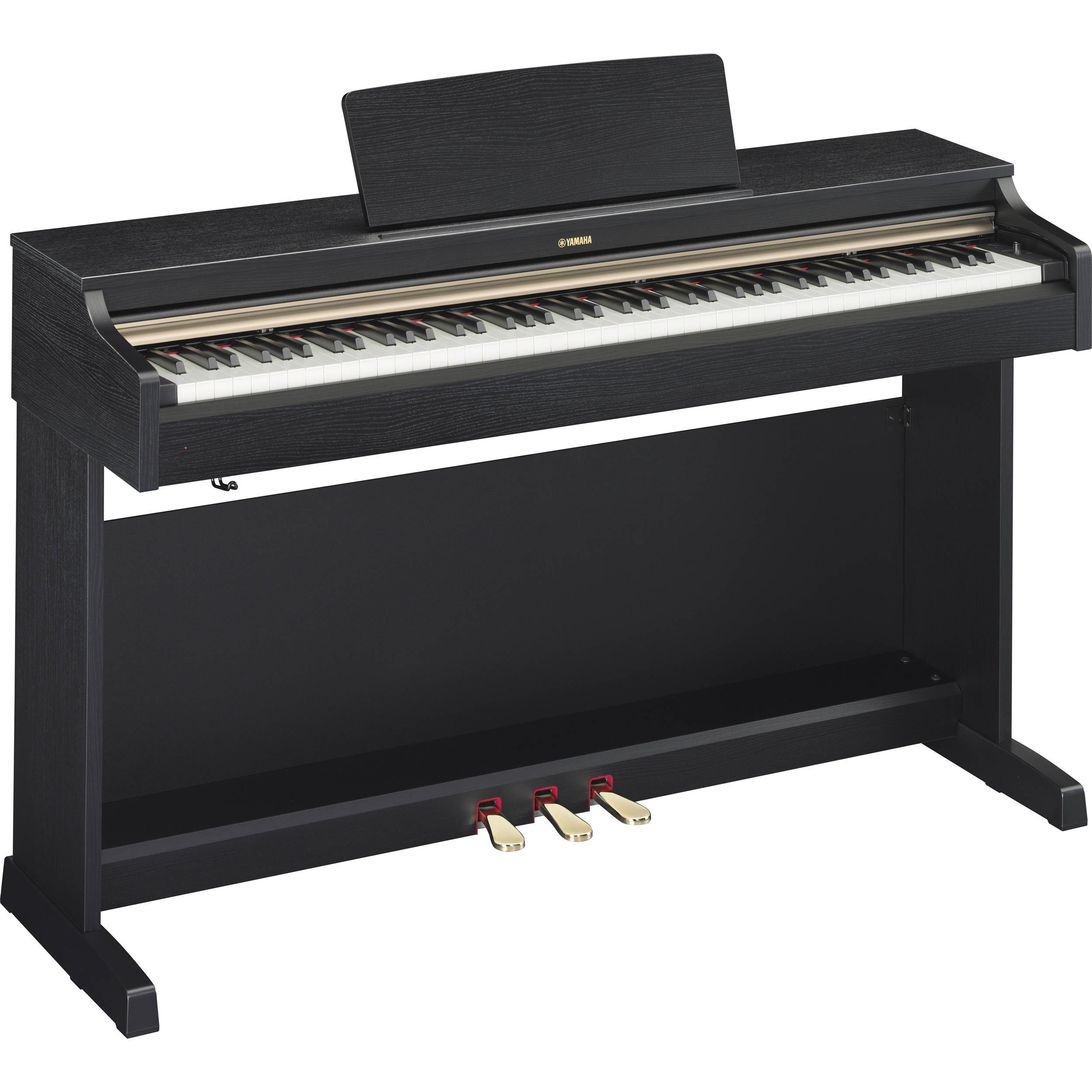 Yamaha ydp 162 arius 88 key digital piano black walnut for Yamaha ydp 162 digital piano