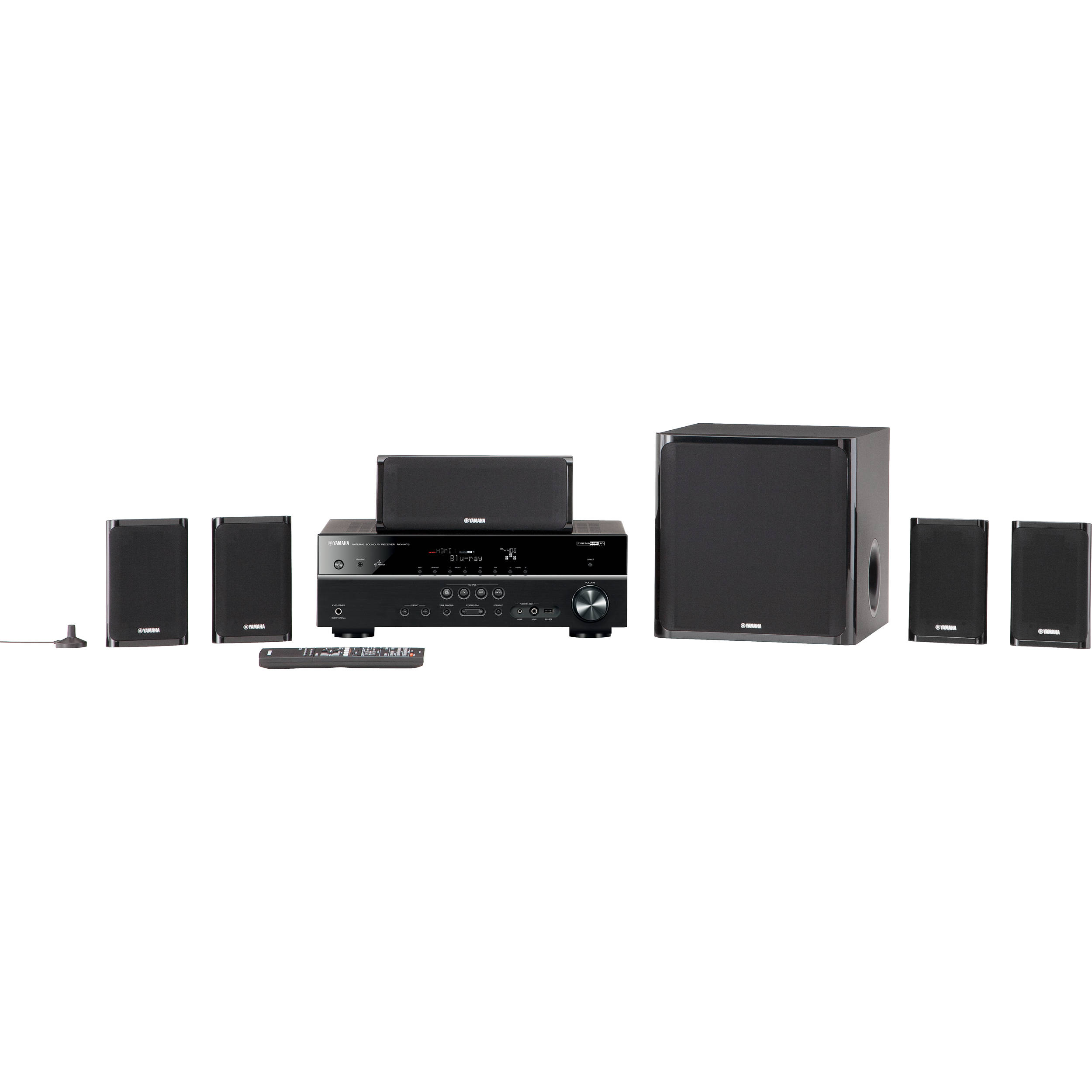Yamaha YHT-599UBL 5.1-Channel Network AV Home Theater YHT-599UBL