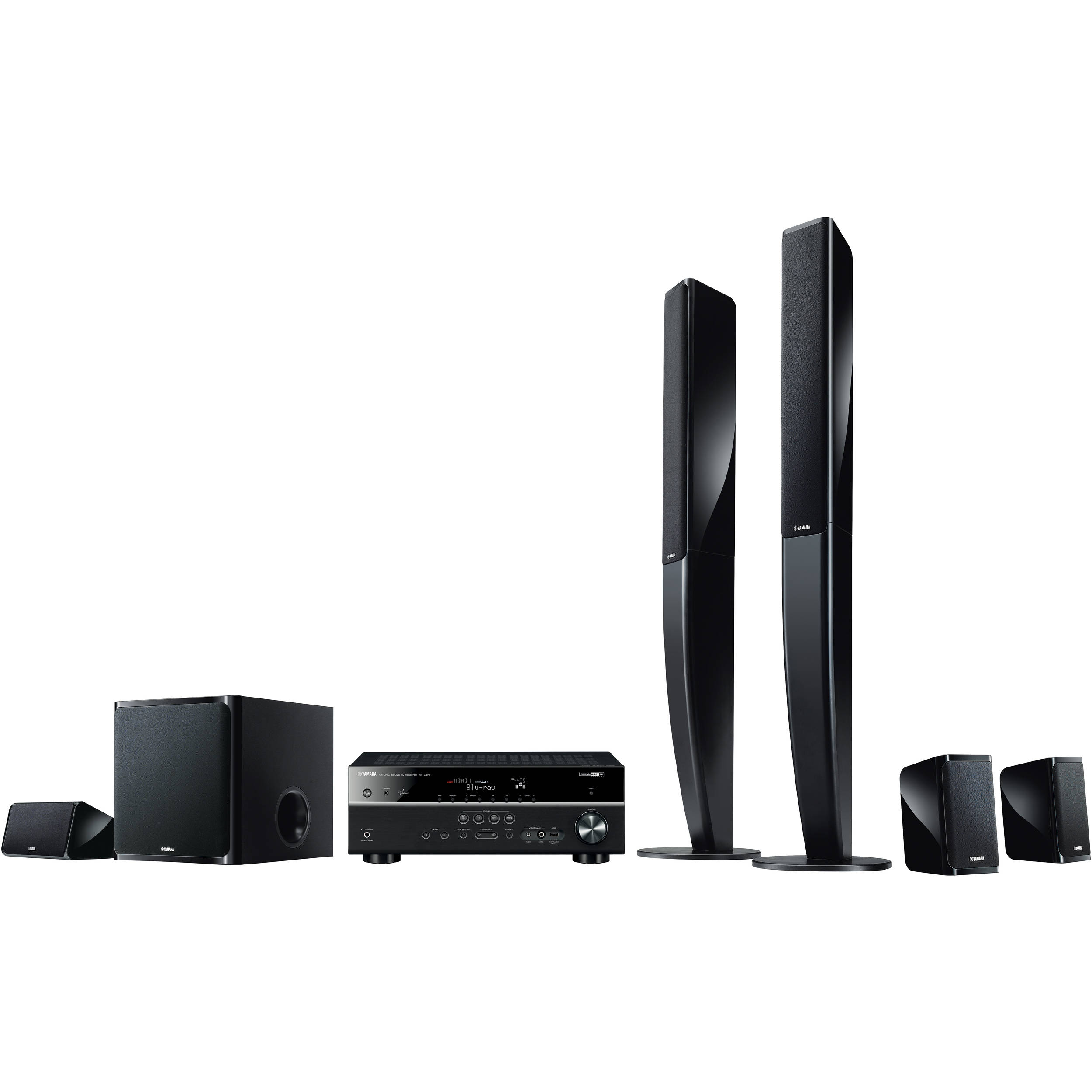 Yamaha YHT-699UBL 5.1-Channel Network AV Home Theater YHT-699UBL