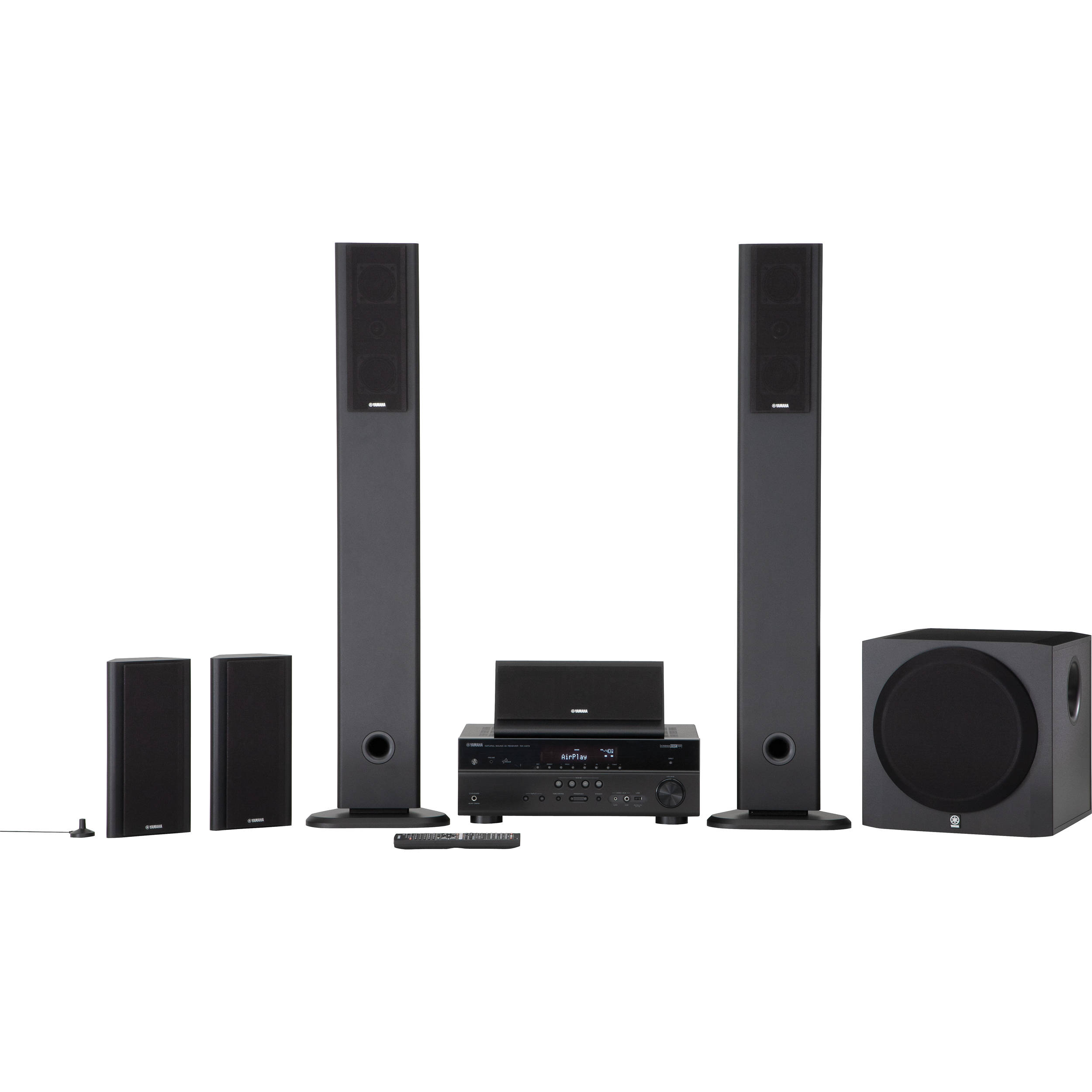 Yamaha YHT-899UBL 5.1-Channel Network AV Home Theater YHT-899UBL