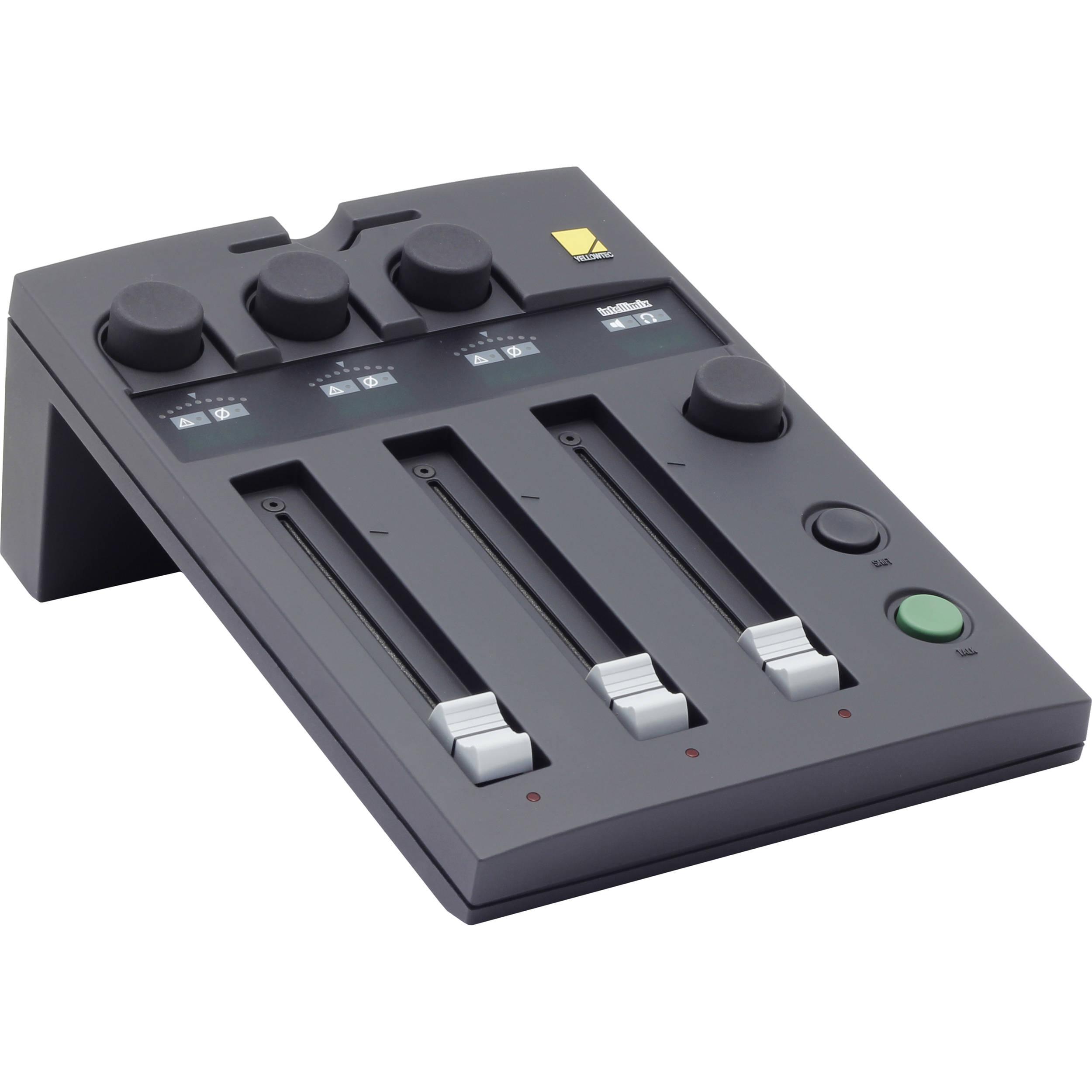 yellowtec yt2000 intellimix digital desktop audio mixer yt2000. Black Bedroom Furniture Sets. Home Design Ideas