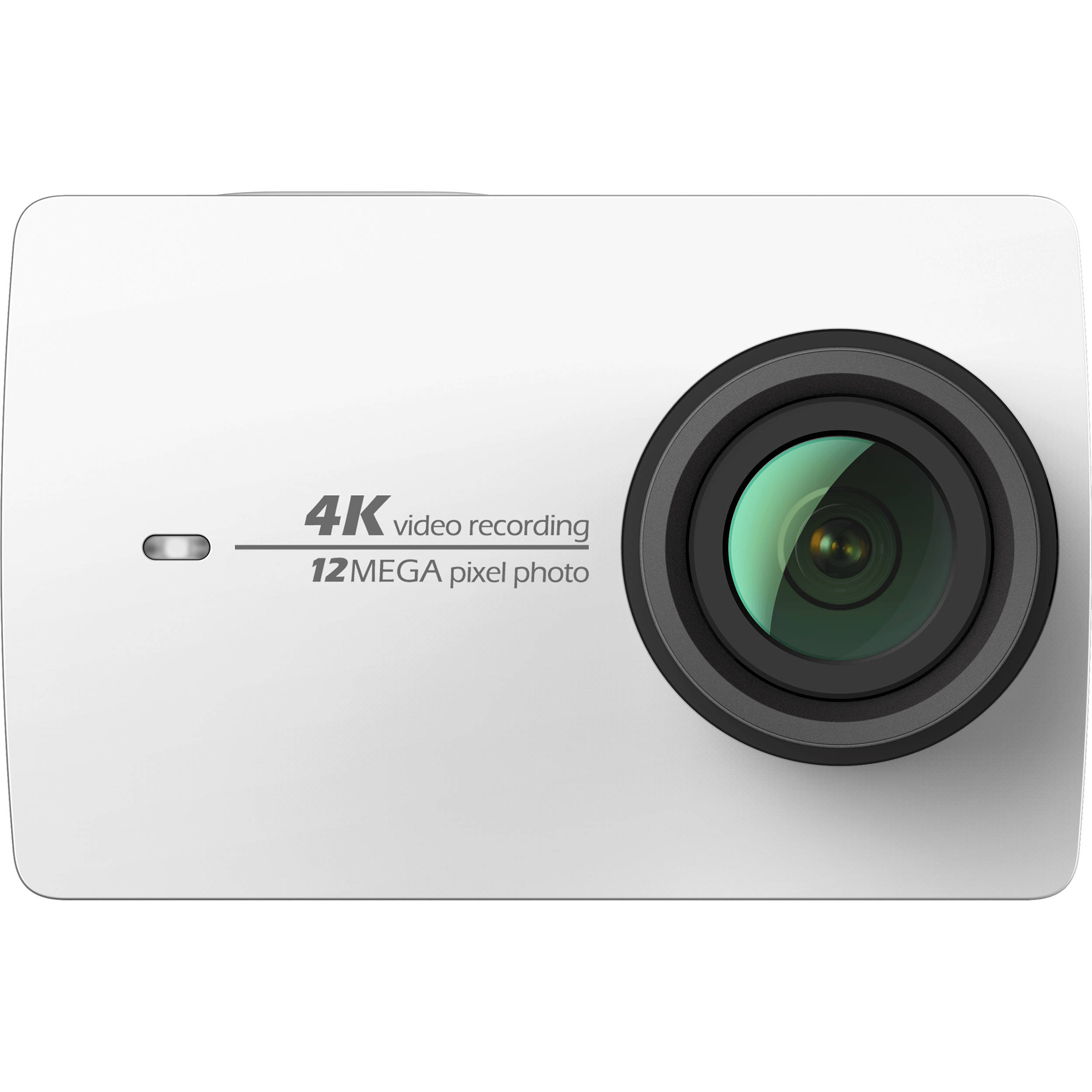 YI Technology 4K Action Camera (White) 90001 B&H Photo Video
