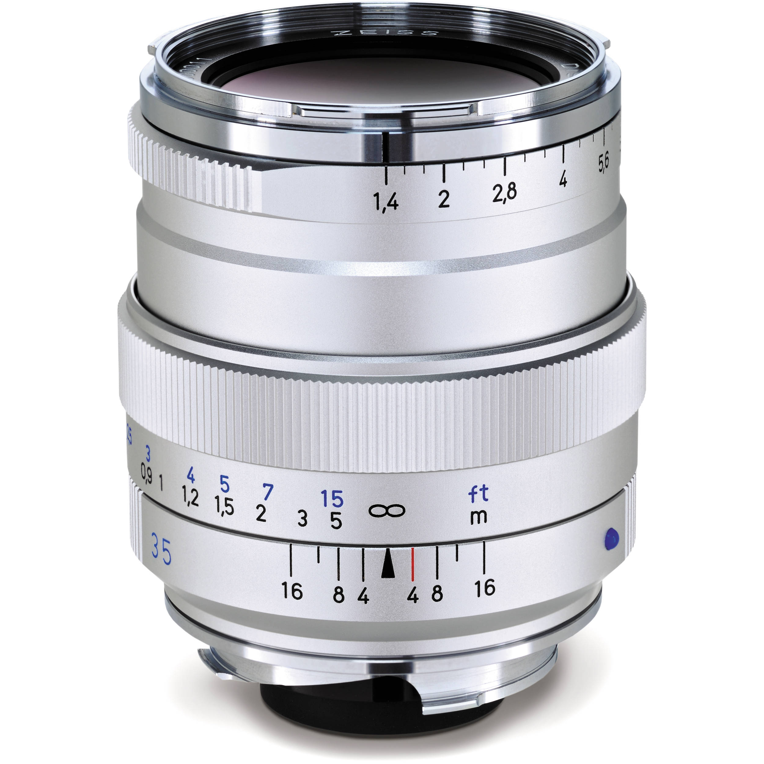 Zeiss 35 Distagon Bh Photo Video Sony T Fe 35mm F 14 Za Lens Zm Silver