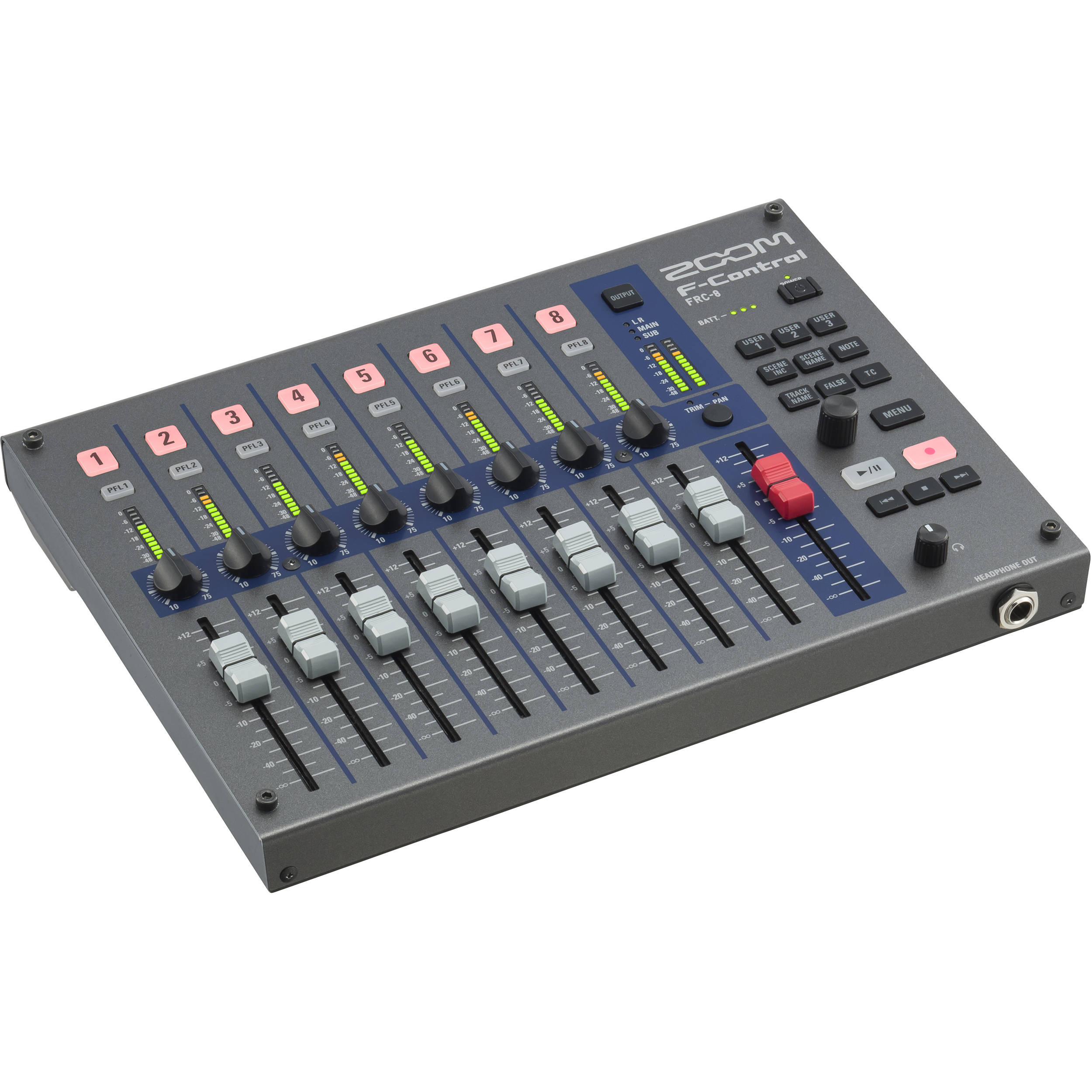 Zoom F-Control for F8n, F8, and F4 Multitrack Field FRC-8 B&H