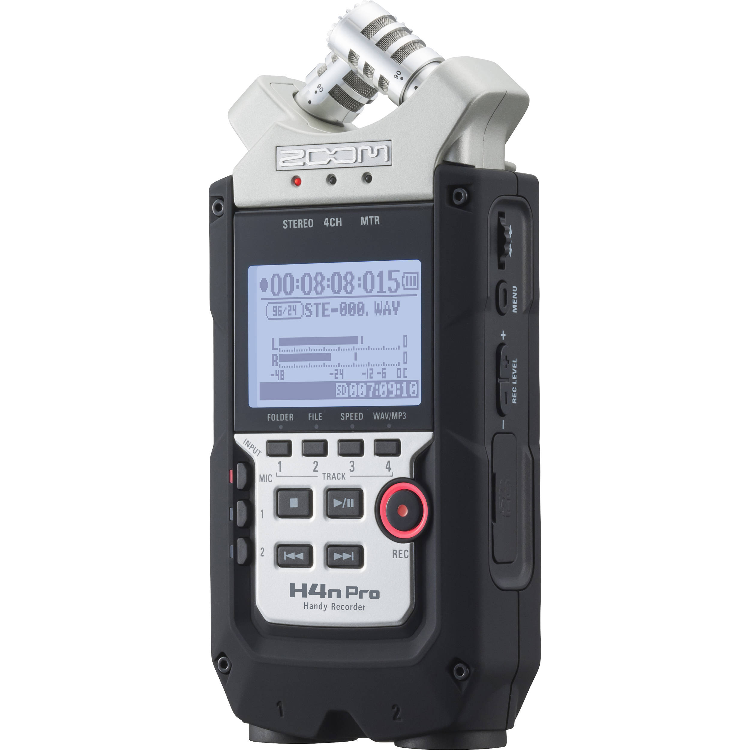 Used Zoom H4n Pro 4 Input 4 Track Portable Handy Zh4npro B H