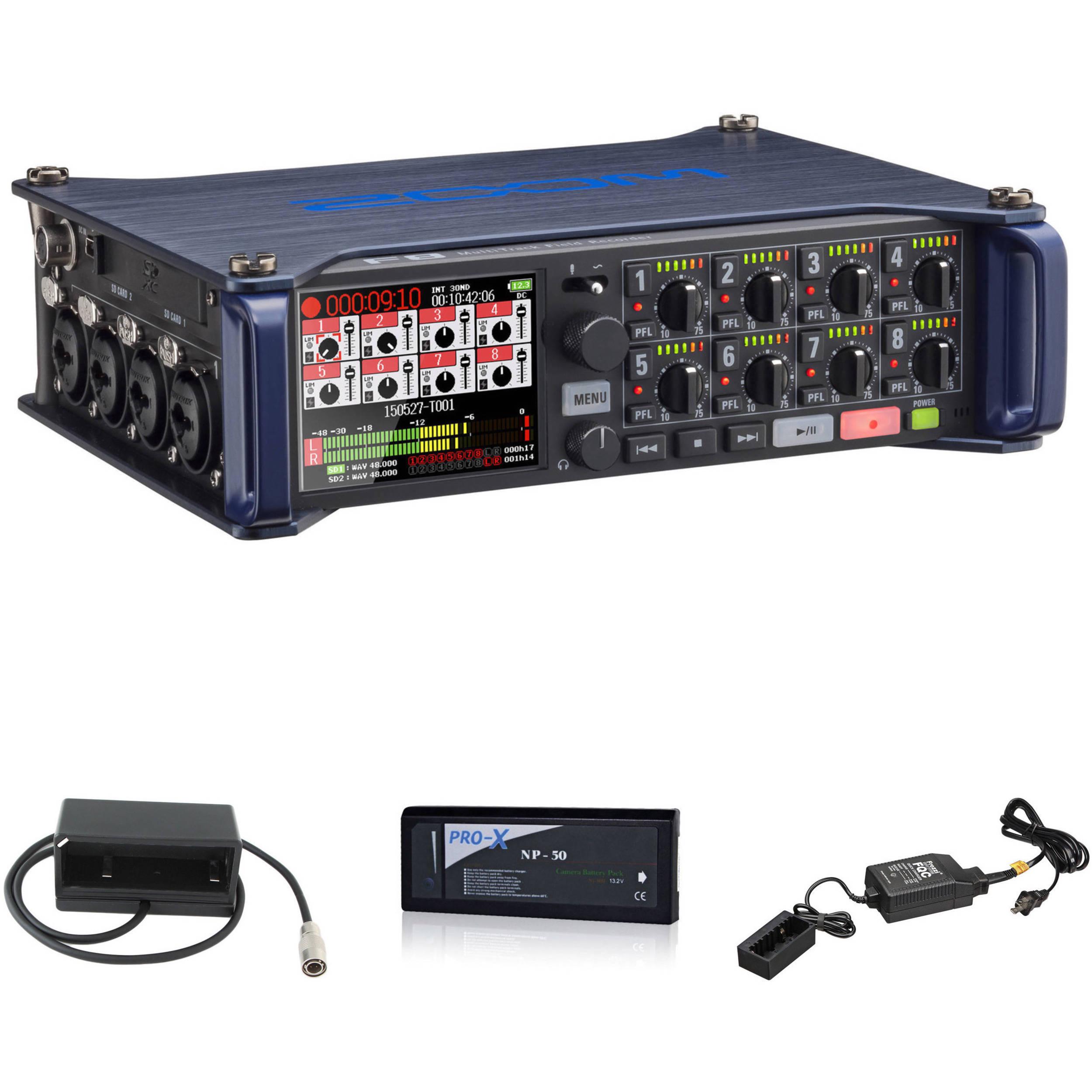 Zoom F8 Field Recorder Kit B Amp H Photo Video