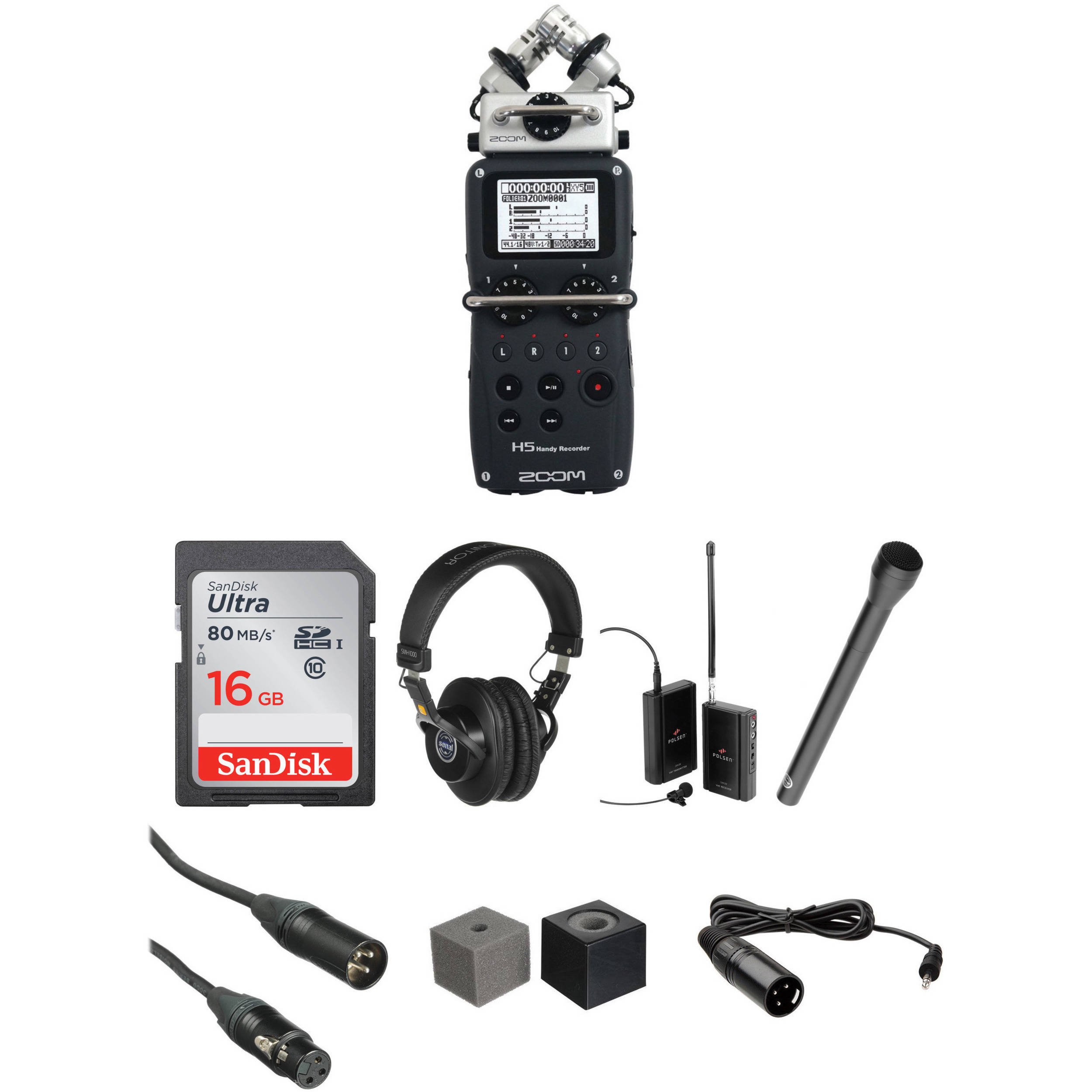 Zoom H5 Wireless Interview Kit