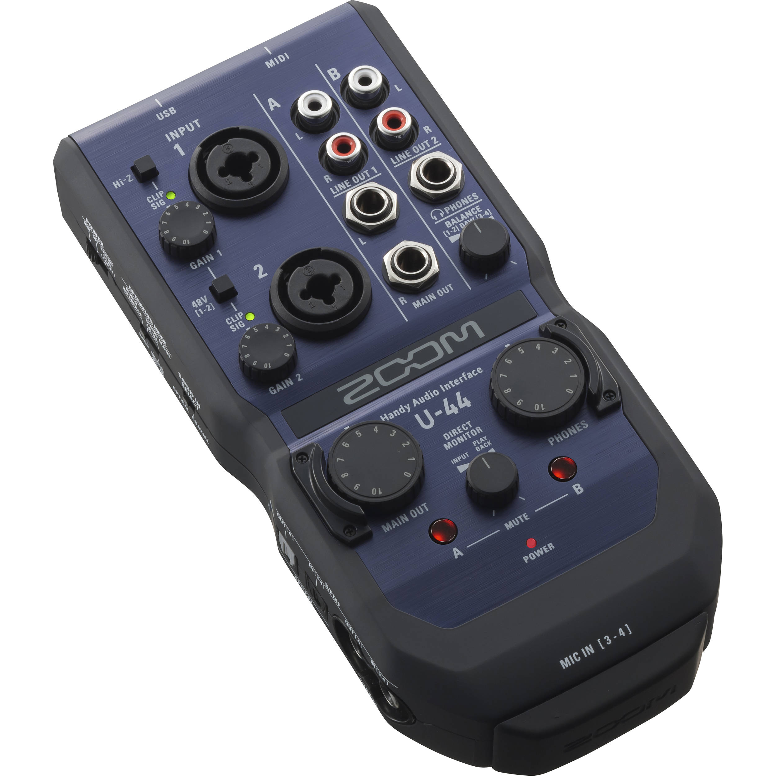 Zoom U-44 Audio Interface Windows