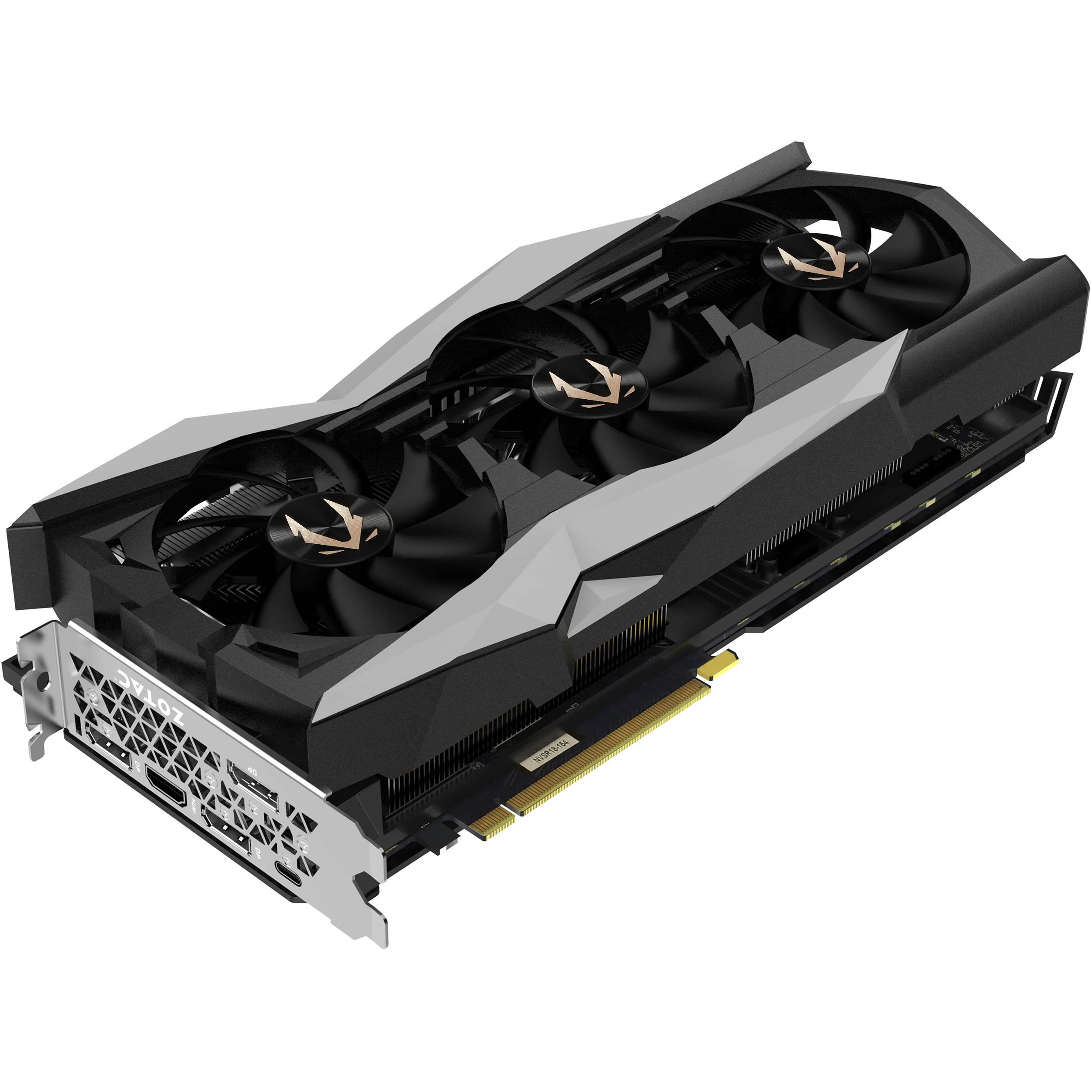 Zotac Gaming Geforce Rtx 2080 Ti Amp Extreme Zt T20810b 10p B H