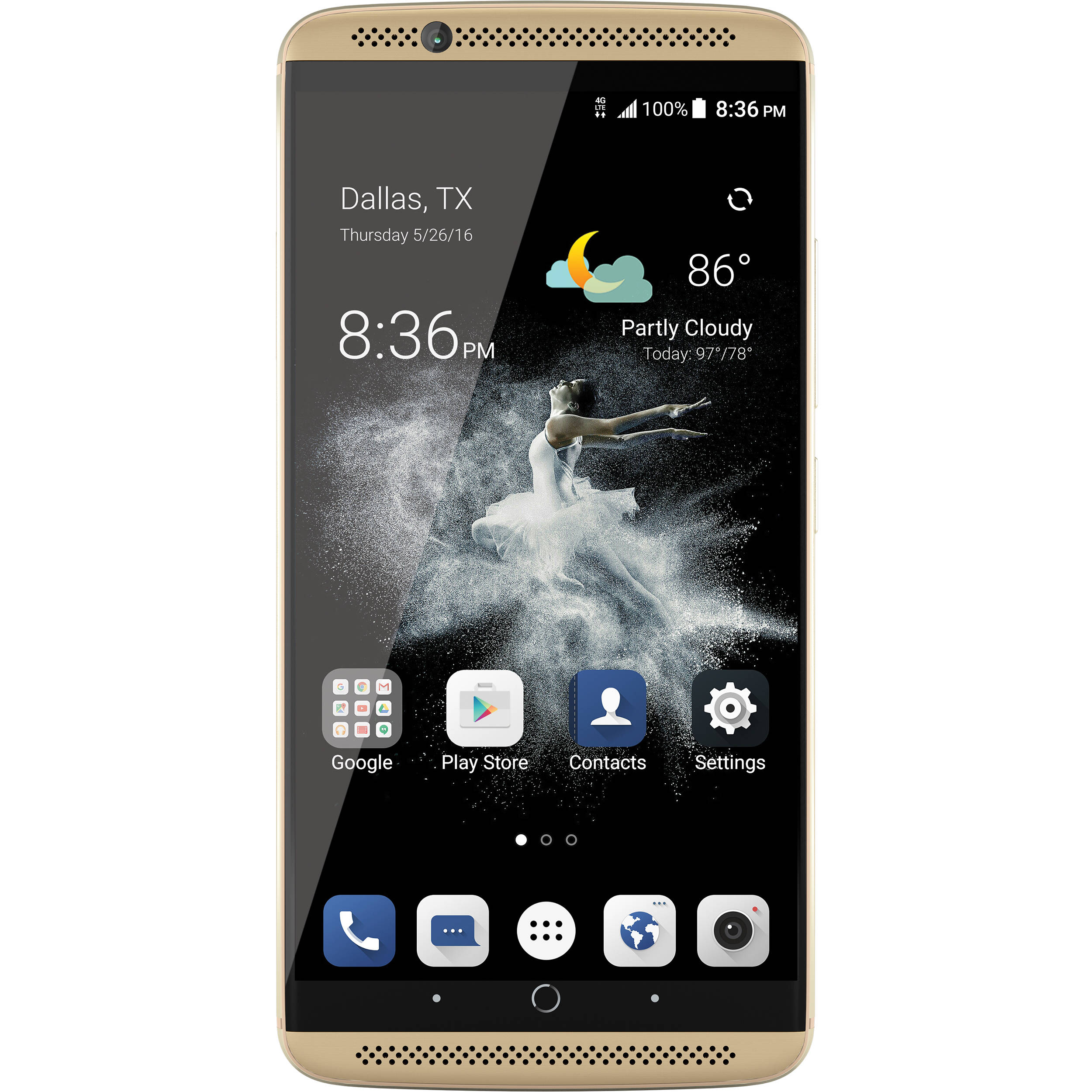 ion smartphone axon gold unlocked zte 64gb 7 more submit now