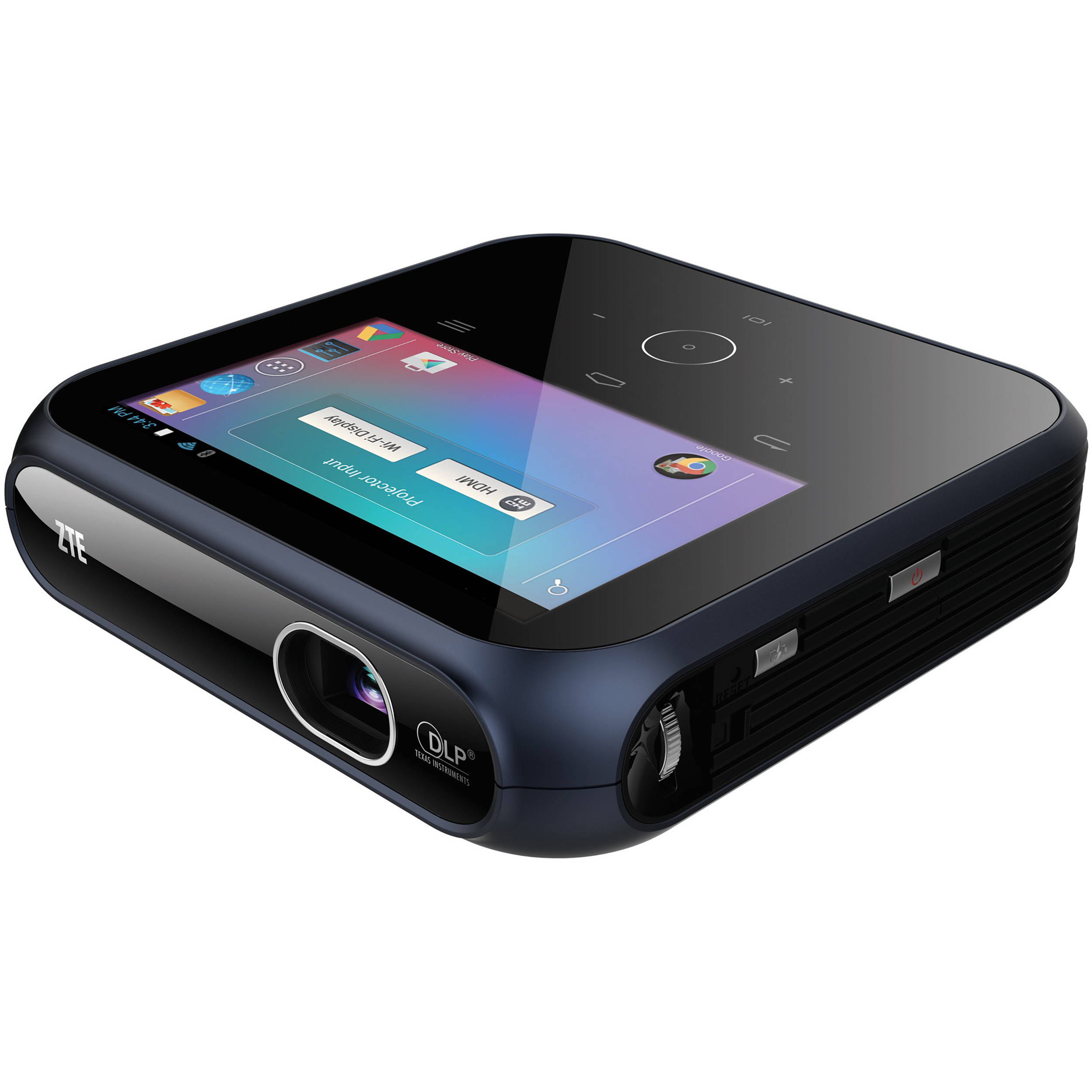 Zte spro mf97w 100 lumen fwvga smart dlp pico projector for Dlp pico projector price