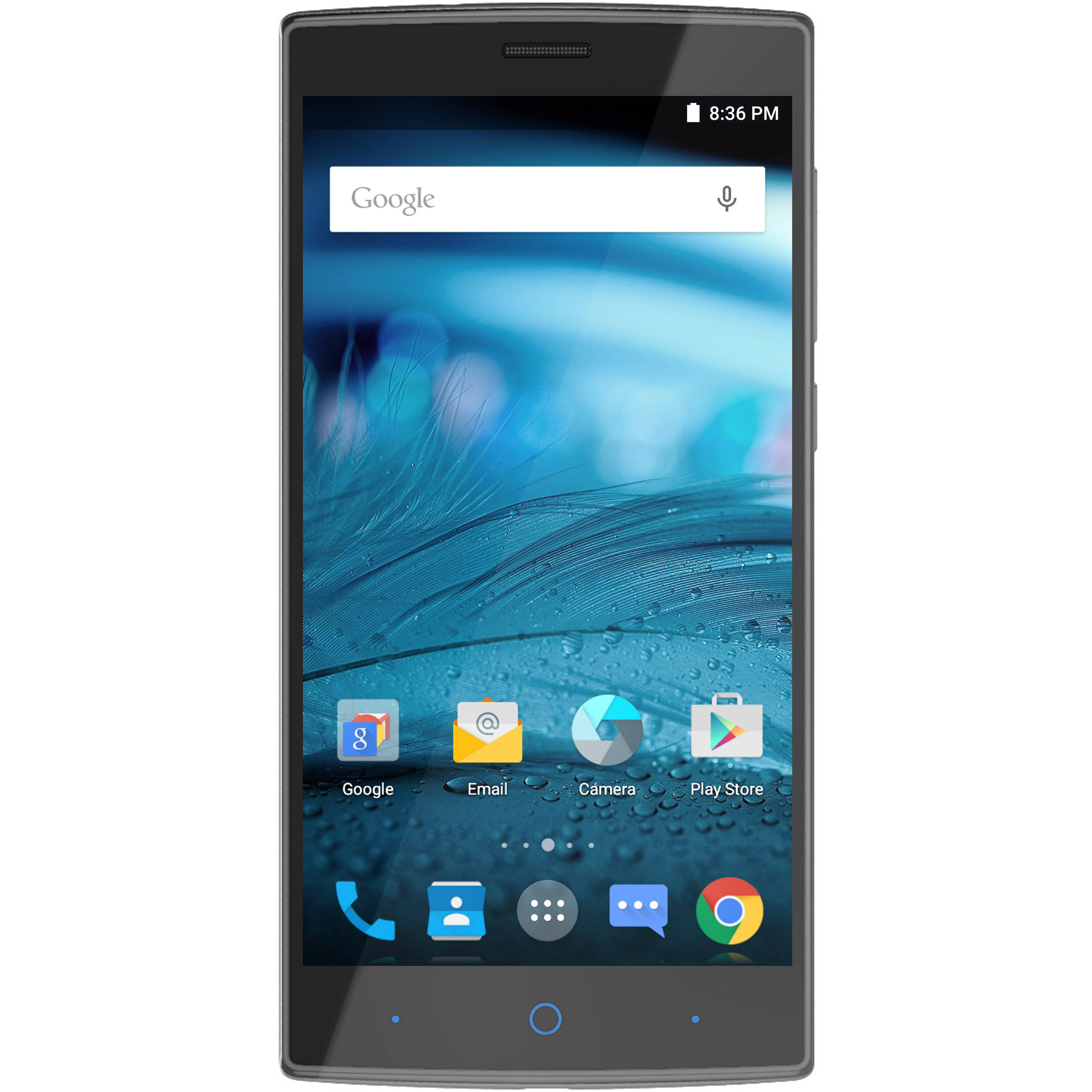Wireless zte zmax 2 4g with 16gb memory prepaid cell phone you for all