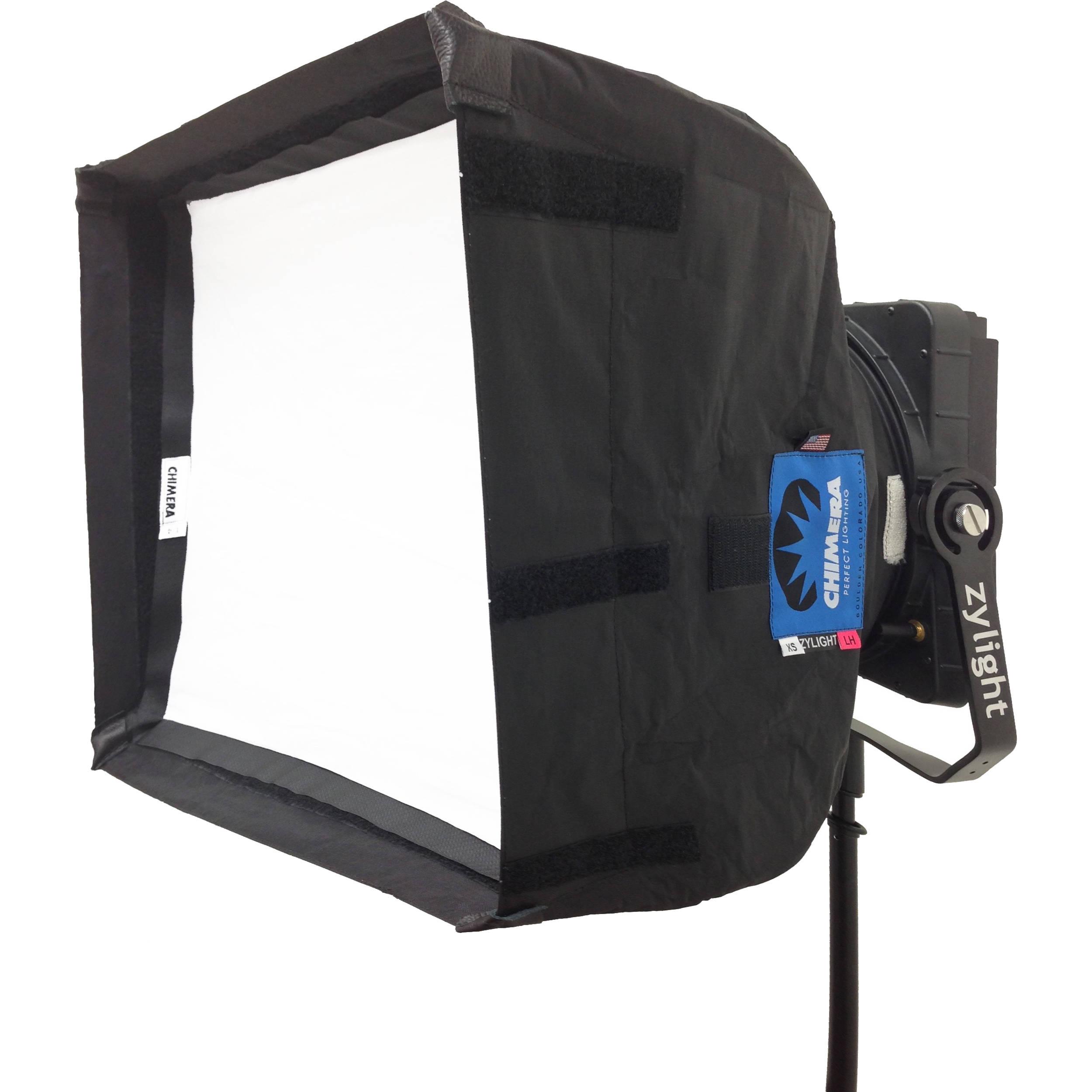 Shown with Optional Accessories  sc 1 st  Bu0026H & Zylight F8 Chimera Softbox Kit 26-02012 Bu0026H Photo Video azcodes.com