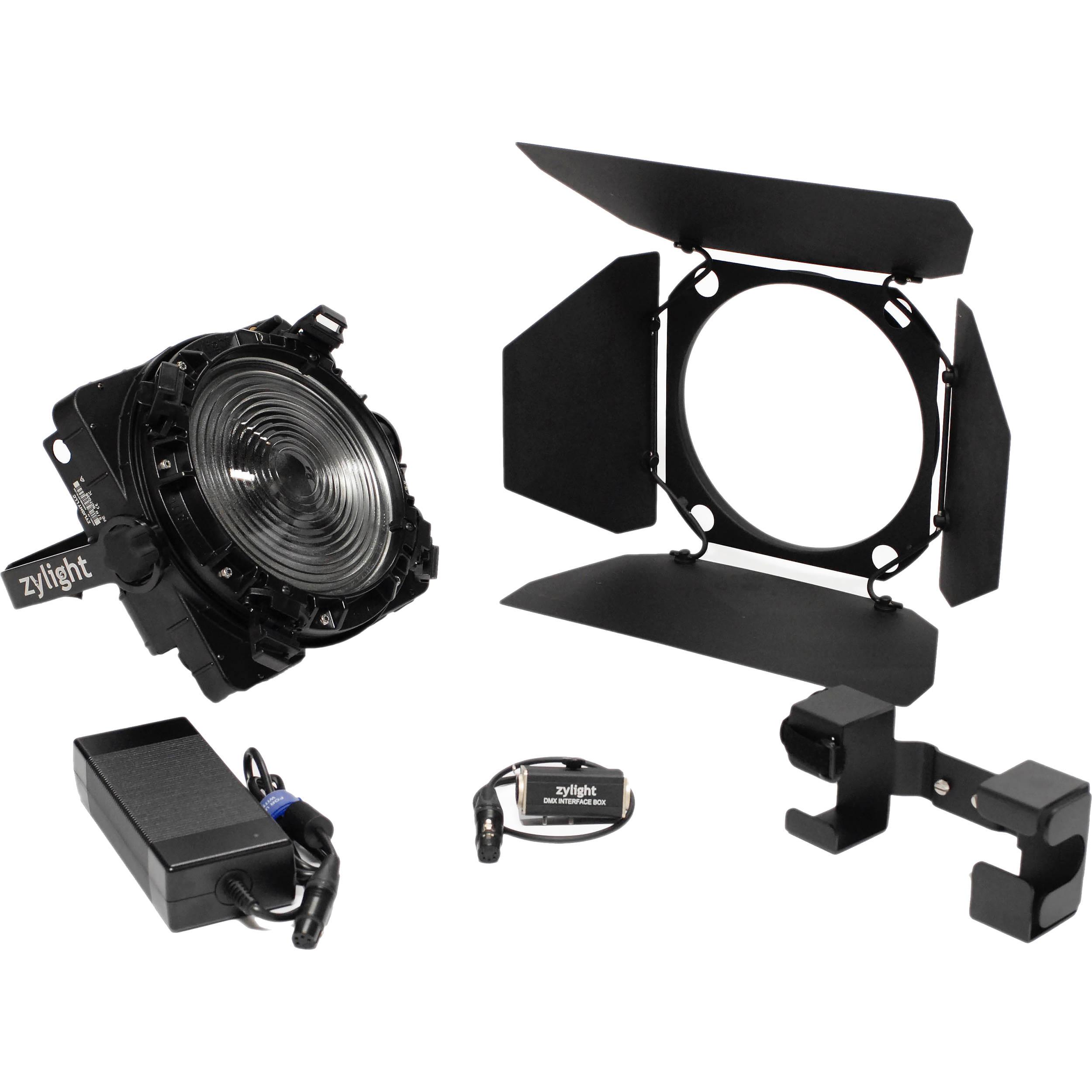 Zylight F8 200 Daylight Led Fresnel Studio Kit 26 01066 B Amp H