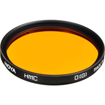 Orange Hoya 55 mm HMC YA3 Round Filter