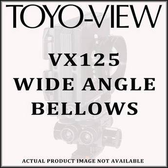 Toyo-View 4x5 Wide Angle Bellows for the VX125 Camera (Black)