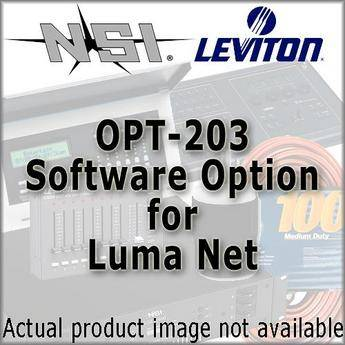 NSI / Leviton Opt-203 With 501 Interface for Luma-Net