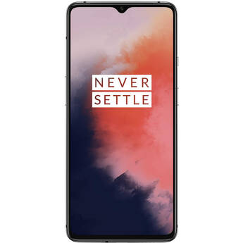 OnePlus 7T 128GB Smartphone Factory Unlocked, Frosted Silver