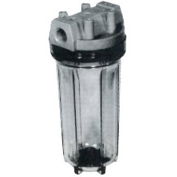 Be to modify a water filter canister into a small canister filter