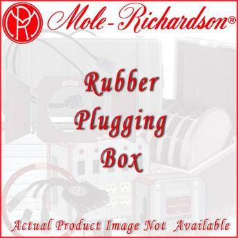 Mole-Richardson 101P One Hole Rubber Plugging Box