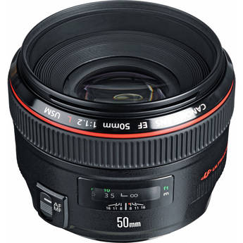Canon Normal EF 50mm f/1.2L USM Autofocus Lens