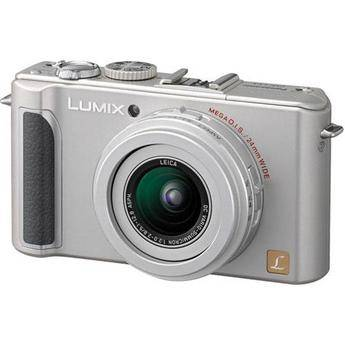 Panasonic Lumix DMC-LX3 Digital Camera (Silver)