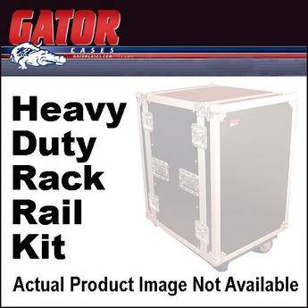 Gator Cases GR-FS4-RR-27-T Heavy Duty Rack Rail Kit for FSU Series Racks (27 Space)