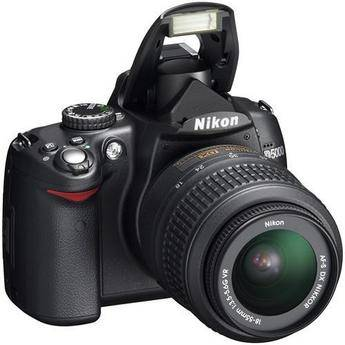 Nikon D5000 Digital SLR Camera Kit with 18-55mm VR Lens