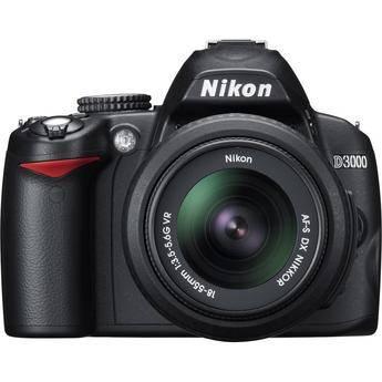 Выступ для держания фотоаппарата в Nikon D3000 немного уменьшен, что...