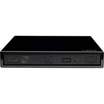 B&H Photo - LaCie Slimline 8x Dual Layer USB DVD Burner - $49.99