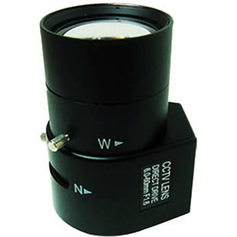 Bolide Technology Group 6-60mm Vari-focal Megapixel Lens