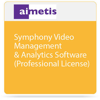 aimetis Symphony Video Management & Analytics Software (Professional License)