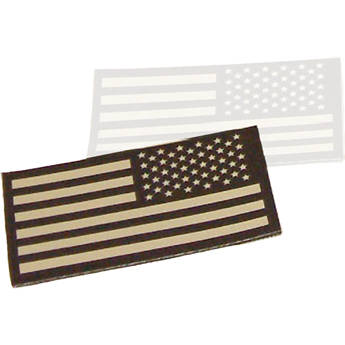 Morovision Infrared ID USA Flag Patch (Tan, Right Sleeve)