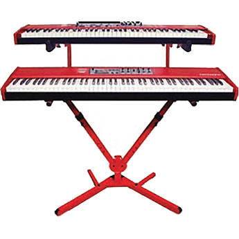 Nord 2 Tier Keyboard Stand Red Qly41nord B Amp H Photo Video